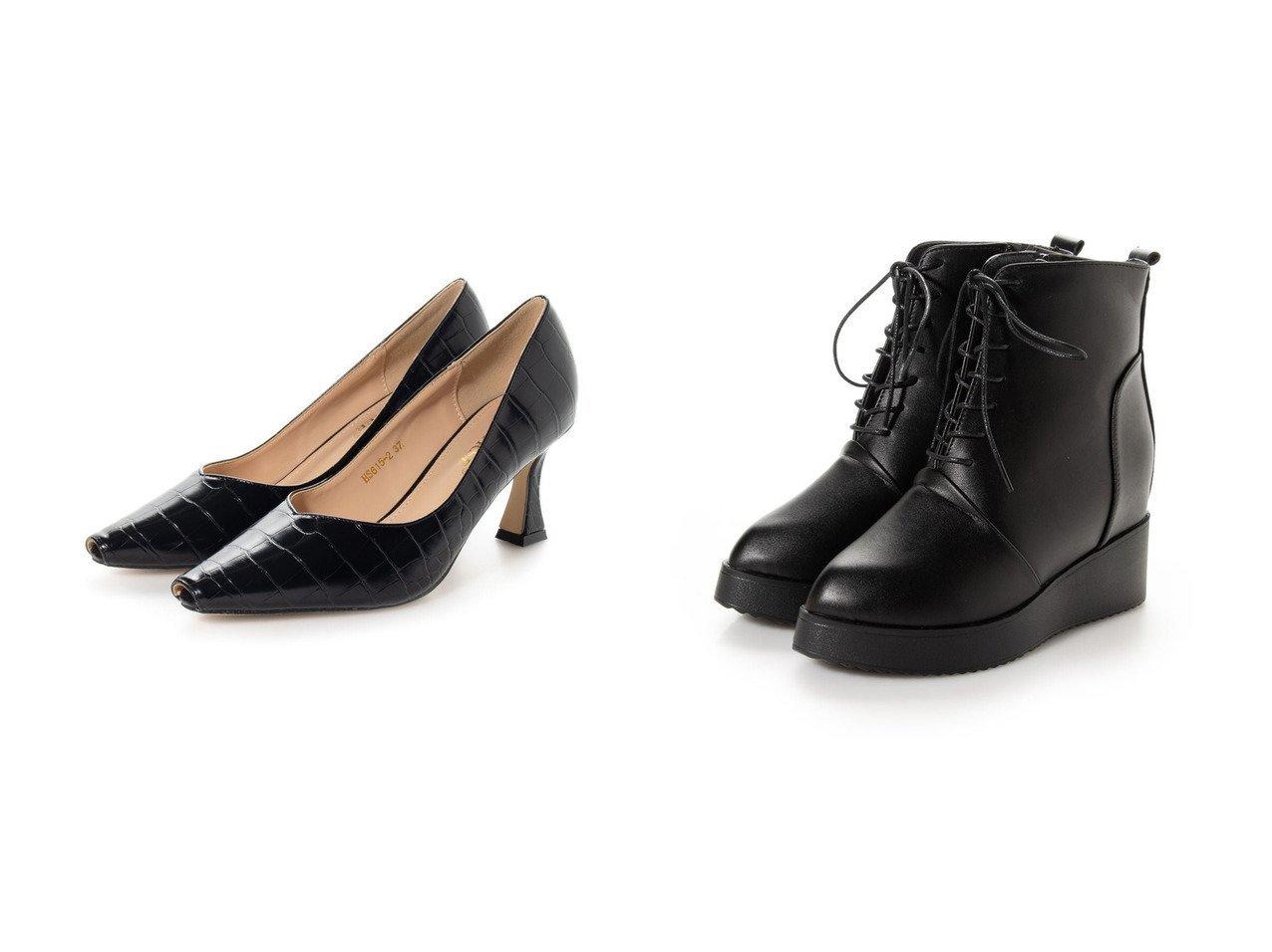 【SVEC/シュベック】のポインテッドトゥパンプス&ショートブーツ シューズ・靴のおすすめ!人気、トレンド・レディースファッションの通販  おすすめで人気の流行・トレンド、ファッションの通販商品 メンズファッション・キッズファッション・インテリア・家具・レディースファッション・服の通販 founy(ファニー) https://founy.com/ ファッション Fashion レディースファッション WOMEN シューズ ショート デニム トレンド ベーシック ミリタリー クロコ シンプル ラグジュアリー 定番 Standard |ID:crp329100000019300