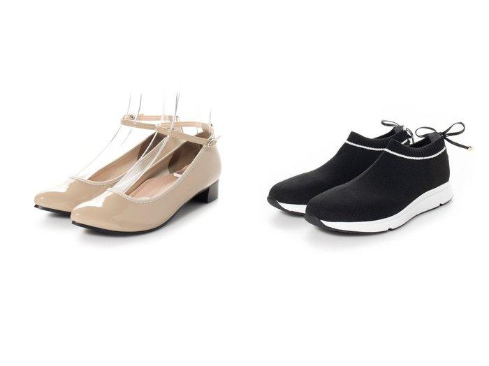 【RiiiKa/リーカ】のポインテッドトゥアンクルベルトレインパンプス&【RANDA/ランダ】のストレスフリー/バックリボンニットスニーカー シューズ・靴のおすすめ!人気、トレンド・レディースファッションの通販  おすすめ人気トレンドファッション通販アイテム 人気、トレンドファッション・服の通販 founy(ファニー)  ファッション Fashion レディースファッション WOMEN ベルト Belts トップス Tops Tshirt ニット Knit Tops 2021年 2021 2021 春夏 S/S SS Spring/Summer 2021 S/S 春夏 SS Spring/Summer インソール インナー フォーマル メッシュ 人気 春 Spring 軽量 スニーカー リボン |ID:crp329100000019303