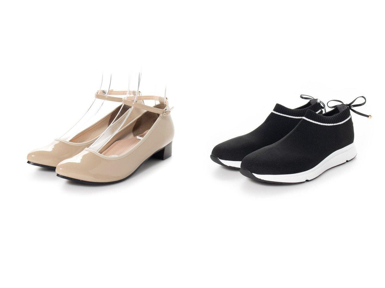 【RiiiKa/リーカ】のポインテッドトゥアンクルベルトレインパンプス&【RANDA/ランダ】のストレスフリー/バックリボンニットスニーカー シューズ・靴のおすすめ!人気、トレンド・レディースファッションの通販  おすすめで人気の流行・トレンド、ファッションの通販商品 メンズファッション・キッズファッション・インテリア・家具・レディースファッション・服の通販 founy(ファニー) https://founy.com/ ファッション Fashion レディースファッション WOMEN ベルト Belts トップス Tops Tshirt ニット Knit Tops 2021年 2021 2021 春夏 S/S SS Spring/Summer 2021 S/S 春夏 SS Spring/Summer インソール インナー フォーマル メッシュ 人気 春 Spring 軽量 スニーカー リボン |ID:crp329100000019303