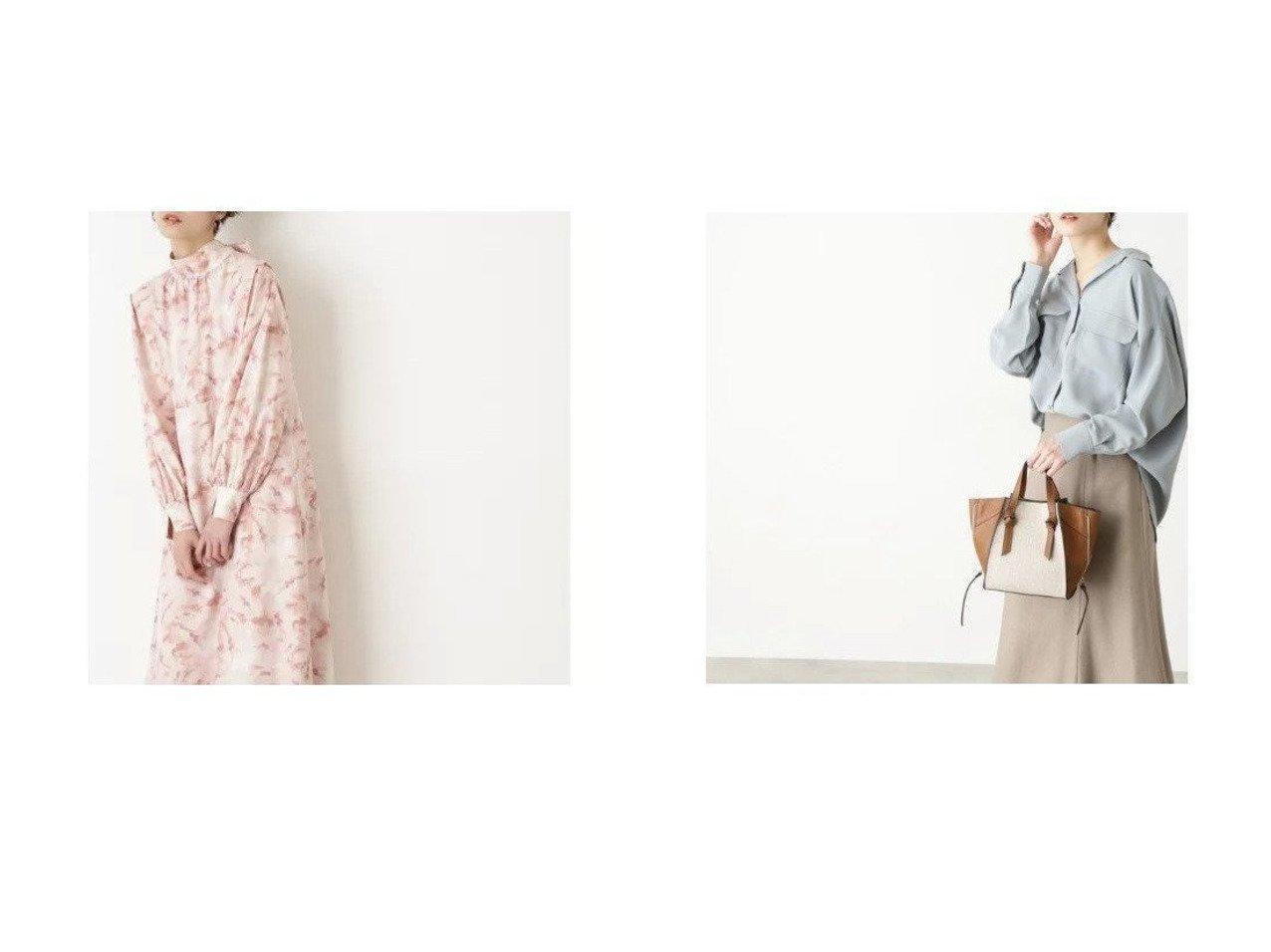 【N.Natural Beauty basic/エヌ ナチュラルビューティーベーシック】のマーブルボウタイワンピース&ポケットスキッパーシャツ NATURAL-BEAUTY-BASICのおすすめ!人気、トレンド・レディースファッションの通販  おすすめで人気の流行・トレンド、ファッションの通販商品 メンズファッション・キッズファッション・インテリア・家具・レディースファッション・服の通販 founy(ファニー) https://founy.com/ ファッション Fashion レディースファッション WOMEN ワンピース Dress トップス Tops Tshirt シャツ/ブラウス Shirts Blouses バランス マーブル リボン スキッパー スリット ポケット |ID:crp329100000019317