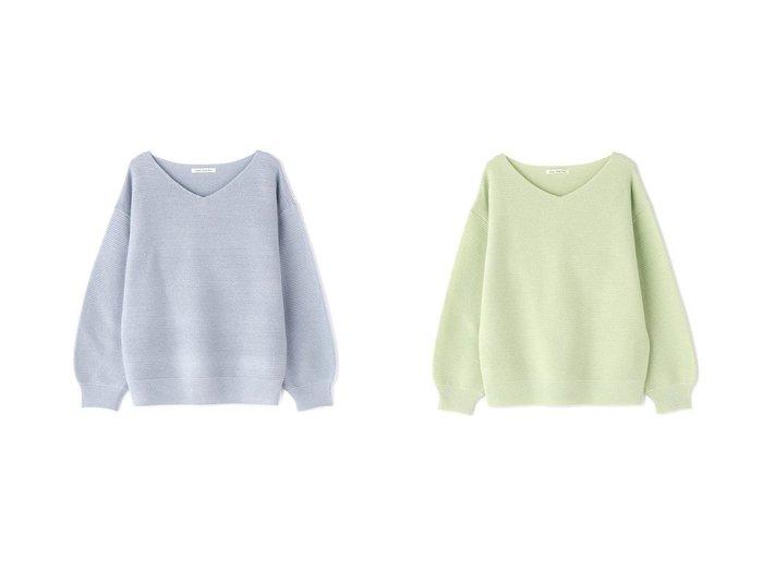 【NATURAL BEAUTY BASIC/ナチュラル ビューティー ベーシック】のラメガーターニット NATURAL BEAUTY BASICのおすすめ!人気、トレンド・レディースファッションの通販  おすすめファッション通販アイテム レディースファッション・服の通販 founy(ファニー) ファッション Fashion レディースファッション WOMEN トップス Tops Tshirt ニット Knit Tops NEW・新作・新着・新入荷 New Arrivals スタンダード スリーブ セーター |ID:crp329100000019330
