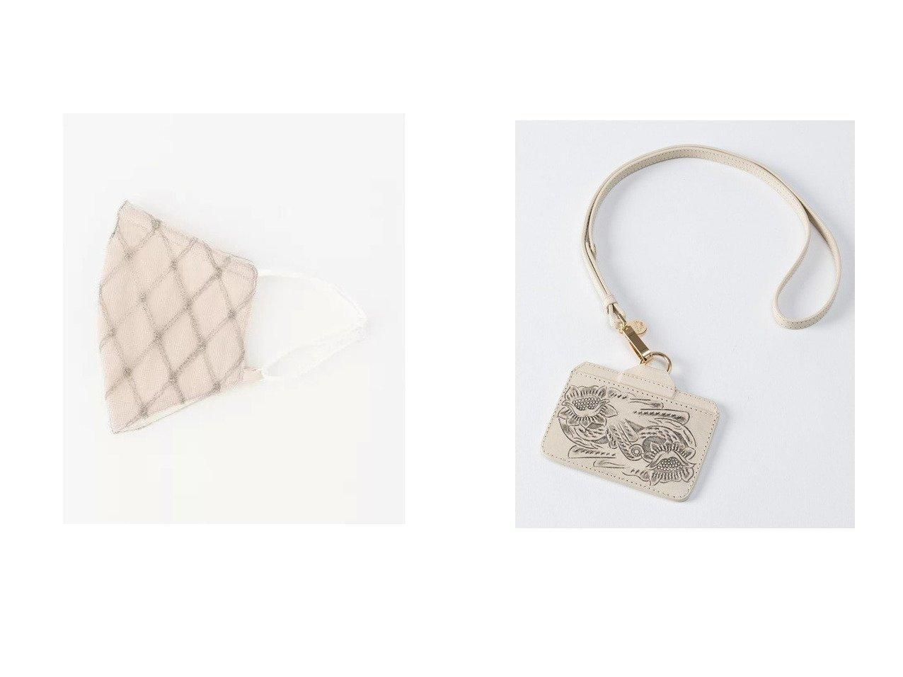 【GRACE CONTINENTAL/グレース コンチネンタル】のID Card holder&チュール刺繍マスク GRACE CONTINENTALのおすすめ!人気、トレンド・レディースファッションの通販  おすすめで人気の流行・トレンド、ファッションの通販商品 メンズファッション・キッズファッション・インテリア・家具・レディースファッション・服の通販 founy(ファニー) https://founy.com/ ファッション Fashion レディースファッション WOMEN 財布 Wallets チュール ハンド ベーシック ヴィンテージ 再入荷 Restock/Back in Stock/Re Arrival 定番 Standard 財布 |ID:crp329100000019416