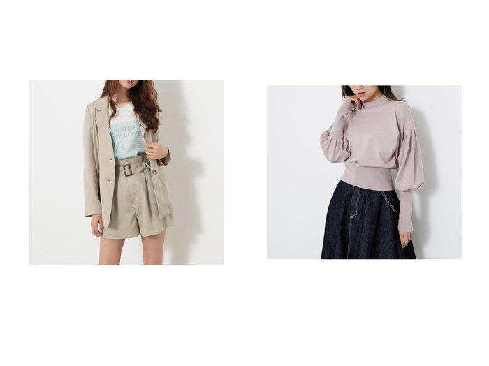【rienda/リエンダ】のテンセルテーラーJK&ギャザーSLV Knit TOP riendaのおすすめ!人気、トレンド・レディースファッションの通販  おすすめファッション通販アイテム レディースファッション・服の通販 founy(ファニー) ファッション Fashion レディースファッション WOMEN トップス Tops Tshirt ニット Knit Tops 2020年 2020 2020 春夏 S/S SS Spring/Summer 2020 S/S 春夏 SS Spring/Summer ショート ジャケット ロング 春 Spring 羽織 2021年 2021 2021 春夏 S/S SS Spring/Summer 2021 ギャザー パターン ボトム  ID:crp329100000019421