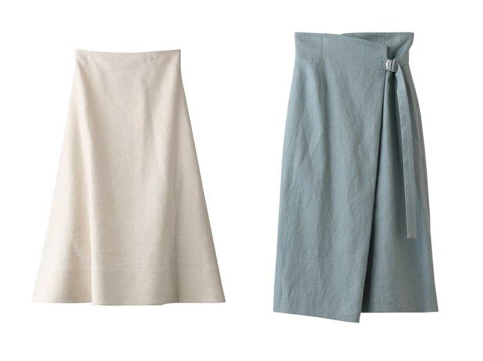 【YLEVE/イレーヴ】のコットンリネンツイルスカート&リネンキャンバスベルテッドスカート YLEVEのおすすめ!人気、トレンド・レディースファッションの通販 おすすめファッション通販アイテム インテリア・キッズ・メンズ・レディースファッション・服の通販 founy(ファニー) https://founy.com/ ファッション Fashion レディースファッション WOMEN スカート Skirt ロングスカート Long Skirt 2021年 2021 2021 春夏 S/S SS Spring/Summer 2021 S/S 春夏 SS Spring/Summer エアリー バランス パターン フレア リネン 春 Spring |ID:crp329100000019436