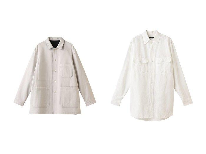【YLEVE/イレーヴ】のVISシーチングシャツ&オーガニックコットンツイルカバーオール YLEVEのおすすめ!人気、トレンド・レディースファッションの通販 おすすめファッション通販アイテム インテリア・キッズ・メンズ・レディースファッション・服の通販 founy(ファニー) https://founy.com/ ファッション Fashion レディースファッション WOMEN アウター Coat Outerwear ジャケット Jackets トップス Tops Tshirt シャツ/ブラウス Shirts Blouses 2021年 2021 2021 春夏 S/S SS Spring/Summer 2021 S/S 春夏 SS Spring/Summer ジャケット ミックス 春 Spring |ID:crp329100000019440