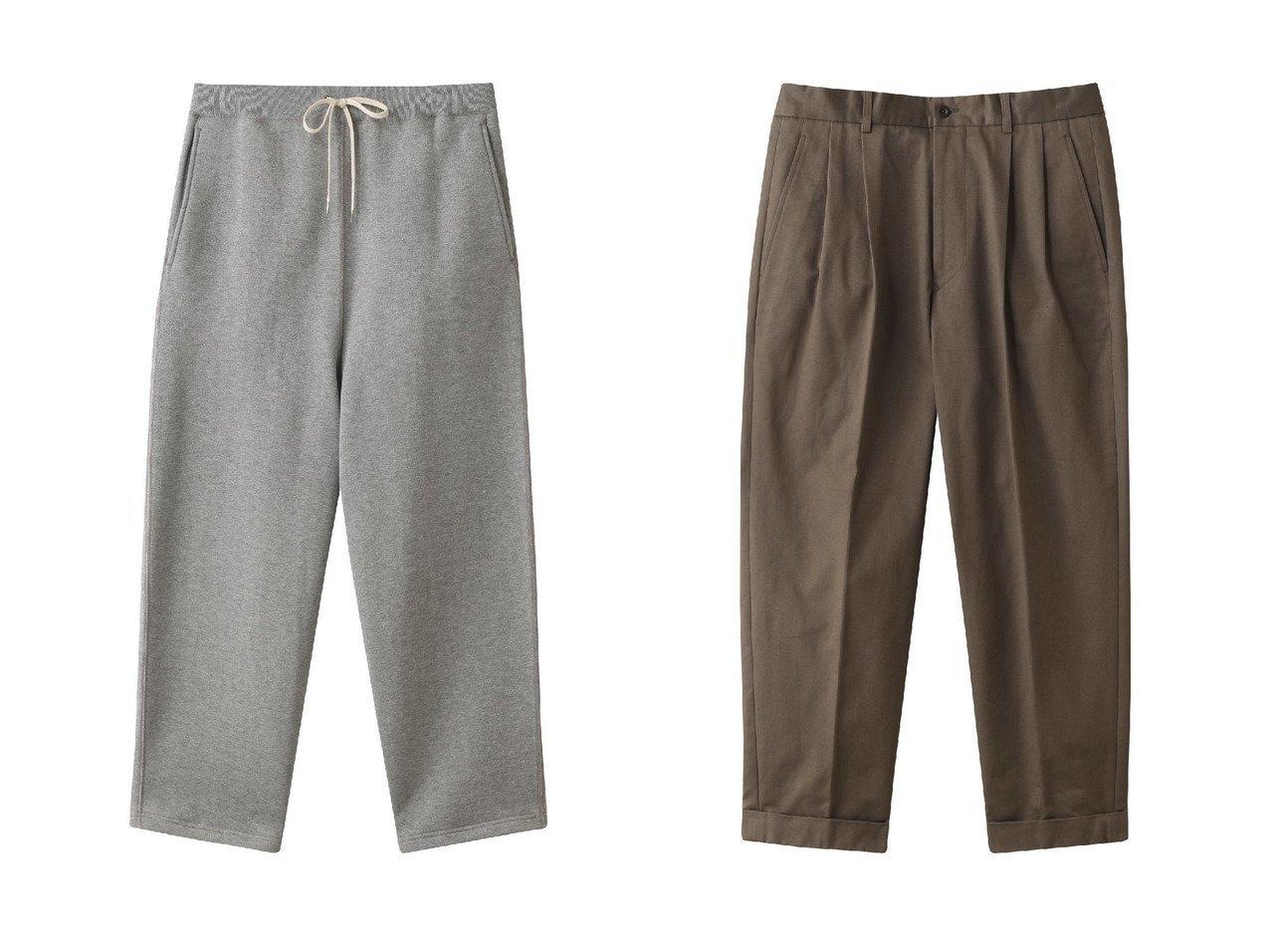 【Scye SCYE BASICS / MEN/サイ サイベーシックス】の【MEN】サンホアキンコットンテーパードプリーツパンツ&【MEN】フリースバックジャージースウェットパンツ 【MEN】Scye SCYE BASICSのおすすめ!人気トレンド・男性、メンズファッションの通販 おすすめで人気の流行・トレンド、ファッションの通販商品 メンズファッション・キッズファッション・インテリア・家具・レディースファッション・服の通販 founy(ファニー) https://founy.com/ ファッション Fashion メンズファッション MEN ボトムス Bottoms Men 2021年 2021 2021 春夏 S/S SS Spring/Summer 2021 S/S 春夏 SS Spring/Summer シンプル 再入荷 Restock/Back in Stock/Re Arrival 春 Spring |ID:crp329100000019448
