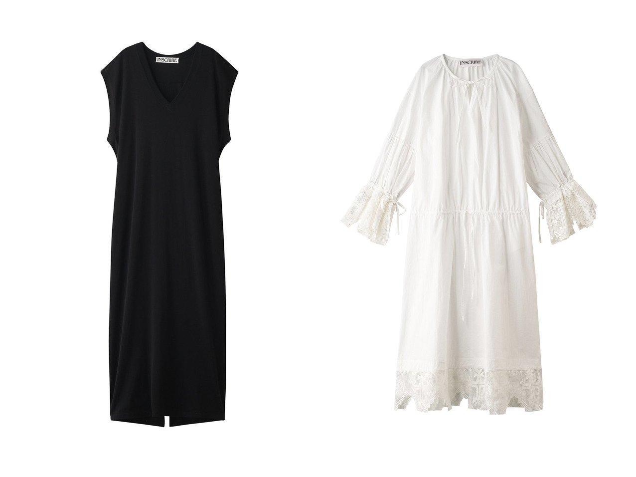 【INSCRIRE/アンスクリア】のレーヨンプレーティングVネックドレス&クロスレースコットンドレス INSCRIREのおすすめ!人気、トレンド・レディースファッションの通販 おすすめで人気の流行・トレンド、ファッションの通販商品 メンズファッション・キッズファッション・インテリア・家具・レディースファッション・服の通販 founy(ファニー) https://founy.com/ ファッション Fashion レディースファッション WOMEN ワンピース Dress ドレス Party Dresses 2021年 2021 2021 春夏 S/S SS Spring/Summer 2021 S/S 春夏 SS Spring/Summer エレガント スリーブ ドレス ドレープ フレンチ ミックス ロング 春 Spring  ID:crp329100000019474