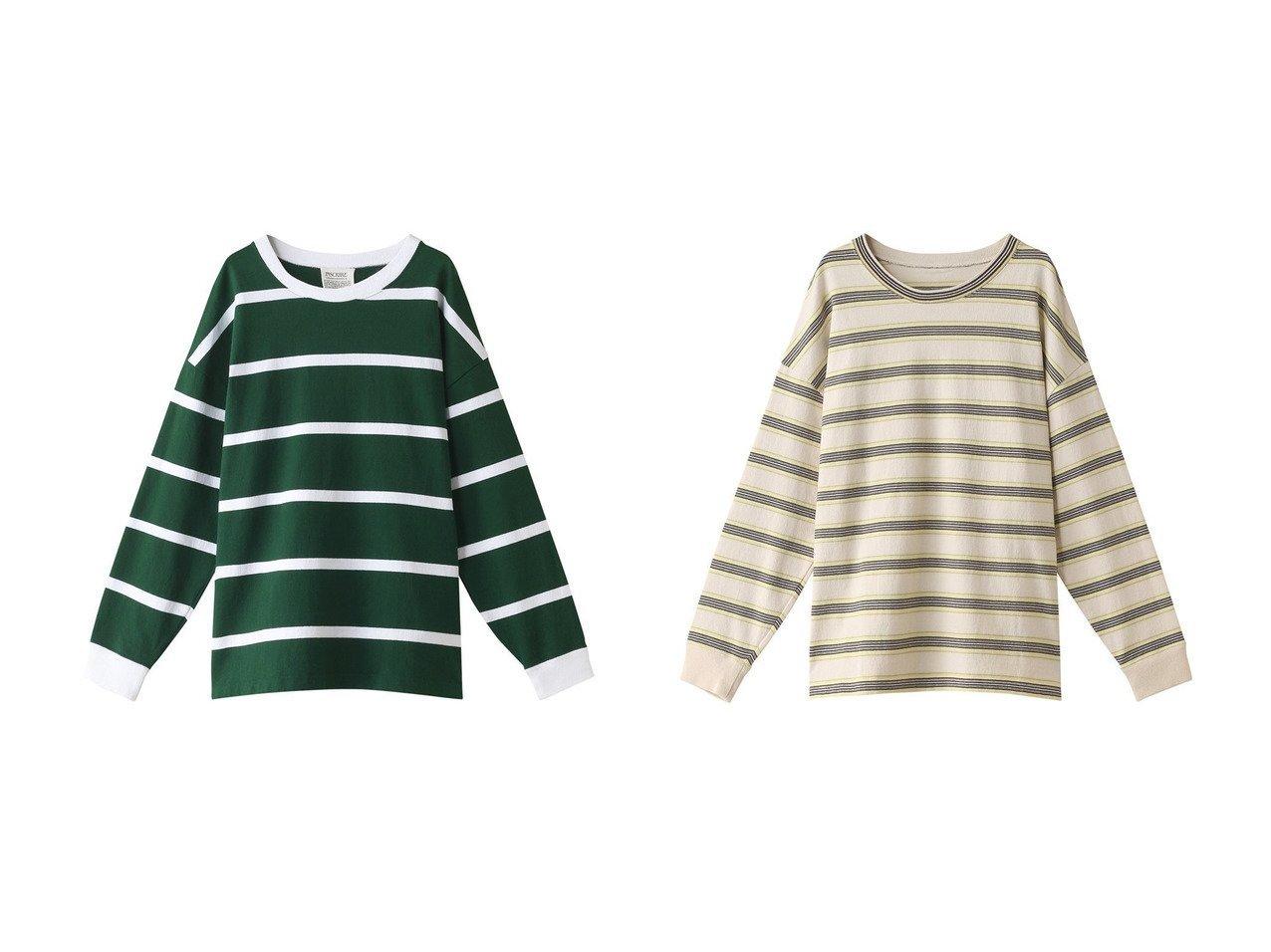 【INSCRIRE/アンスクリア】のコットンボーダービッグロングスリーブTシャツ INSCRIREのおすすめ!人気、トレンド・レディースファッションの通販 おすすめで人気の流行・トレンド、ファッションの通販商品 メンズファッション・キッズファッション・インテリア・家具・レディースファッション・服の通販 founy(ファニー) https://founy.com/ ファッション Fashion レディースファッション WOMEN トップス Tops Tshirt シャツ/ブラウス Shirts Blouses ロング / Tシャツ T-Shirts カットソー Cut and Sewn 2021年 2021 2021 春夏 S/S SS Spring/Summer 2021 S/S 春夏 SS Spring/Summer スリーブ トレンド ビッグ ボーダー ロング 春 Spring  ID:crp329100000019476