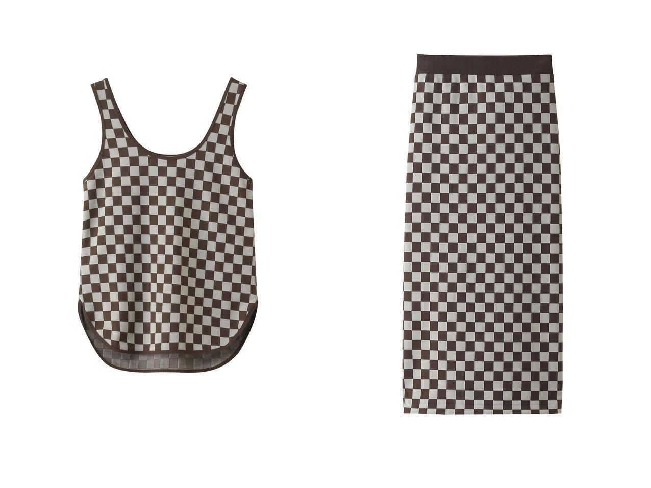【INSCRIRE/アンスクリア】のチェックジャカードタイトスカート&チェックジャカードタンクトップ INSCRIREのおすすめ!人気、トレンド・レディースファッションの通販 おすすめで人気の流行・トレンド、ファッションの通販商品 メンズファッション・キッズファッション・インテリア・家具・レディースファッション・服の通販 founy(ファニー) https://founy.com/ ファッション Fashion レディースファッション WOMEN トップス Tops Tshirt キャミソール / ノースリーブ No Sleeves シャツ/ブラウス Shirts Blouses ロング / Tシャツ T-Shirts カットソー Cut and Sewn スカート Skirt 2021年 2021 2021 春夏 S/S SS Spring/Summer 2021 S/S 春夏 SS Spring/Summer キャミソール ジャカード スリム タンク チェック パターン ミックス 春 Spring  ID:crp329100000019478