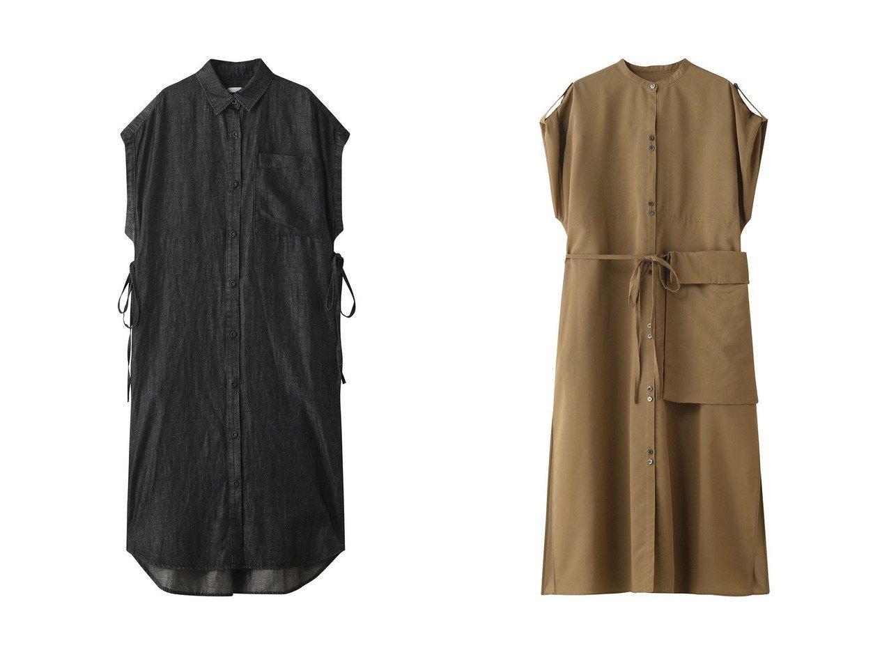 【RITO/リト】のコットンリネンデニムスリーブレスシャツドレス&ポーチポケット付きシアコットンロングシャツドレス RITOのおすすめ!人気、トレンド・レディースファッションの通販 おすすめで人気の流行・トレンド、ファッションの通販商品 メンズファッション・キッズファッション・インテリア・家具・レディースファッション・服の通販 founy(ファニー) https://founy.com/ ファッション Fashion レディースファッション WOMEN ワンピース Dress ドレス Party Dresses ポーチ Pouches 2021年 2021 2021 春夏 S/S SS Spring/Summer 2021 S/S 春夏 SS Spring/Summer デニム リネン レギンス 春 Spring  ID:crp329100000019492