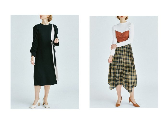 【LANVIN en Bleu/ランバン オン ブルー】のブロードプリーツスカート&マトンスリーブワンピース LANVIN en Bleuのおすすめ!人気、トレンド・レディースファッションの通販 おすすめファッション通販アイテム インテリア・キッズ・メンズ・レディースファッション・服の通販 founy(ファニー) https://founy.com/ ファッション Fashion レディースファッション WOMEN ワンピース Dress スカート Skirt プリーツスカート Pleated Skirts 春 Spring コンビ シンプル ジョーゼット スリーブ ダブル トレンド 人気 バランス フォーマル プリーツ リボン ロング 2021年 2021 S/S 春夏 SS Spring/Summer 2021 春夏 S/S SS Spring/Summer 2021 |ID:crp329100000019527