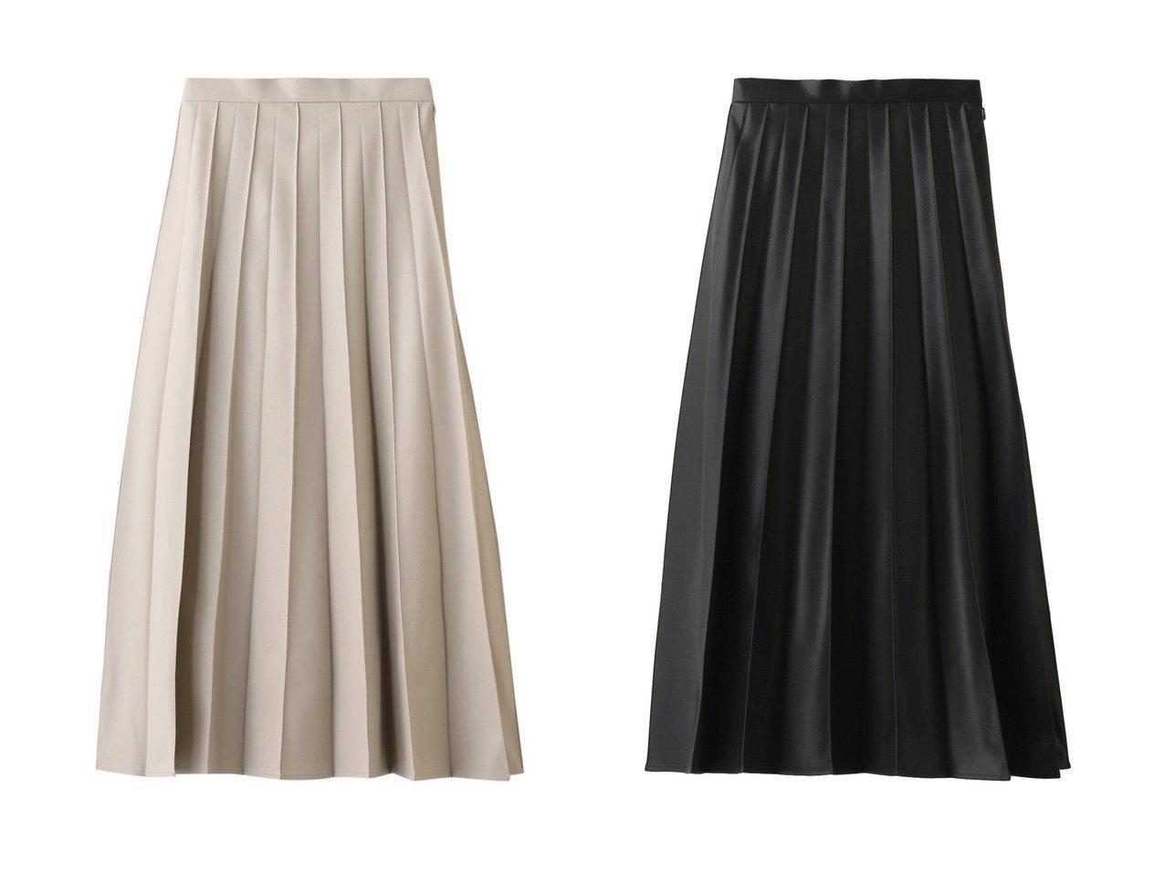 【allureville/アルアバイル】のフェイクレザータックプリーツスカート allurevilleのおすすめ!人気、トレンド・レディースファッションの通販 おすすめで人気の流行・トレンド、ファッションの通販商品 メンズファッション・キッズファッション・インテリア・家具・レディースファッション・服の通販 founy(ファニー) https://founy.com/ ファッション Fashion レディースファッション WOMEN スカート Skirt プリーツスカート Pleated Skirts 2021年 2021 2021 春夏 S/S SS Spring/Summer 2021 S/S 春夏 SS Spring/Summer エレガント ガーリー フェイクレザー プリーツ ロング 春 Spring |ID:crp329100000019546