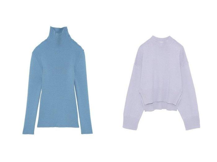 【FRAY I.D/フレイ アイディー】のコットンクルーネックオーバーニット&ボタンタートルリブプルオーバー FRAY I.Dのおすすめ!人気、トレンド・レディースファッションの通販 おすすめファッション通販アイテム レディースファッション・服の通販 founy(ファニー) ファッション Fashion レディースファッション WOMEN トップス Tops Tshirt ニット Knit Tops プルオーバー Pullover NEW・新作・新着・新入荷 New Arrivals インナー シルク スマート セーター タートルネック フィット シンプル ボトム 再入荷 Restock/Back in Stock/Re Arrival 春 Spring |ID:crp329100000019571