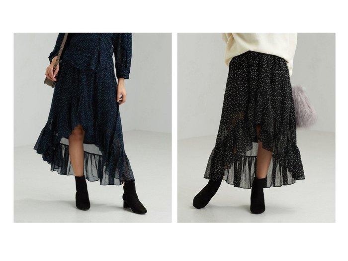 【green label relaxing / UNITED ARROWS/グリーンレーベル リラクシング / ユナイテッドアローズ】のCFC The Korner ドット スカート UNITED ARROWSのおすすめ!人気、トレンド・レディースファッションの通販 おすすめファッション通販アイテム レディースファッション・服の通販 founy(ファニー) ファッション Fashion レディースファッション WOMEN スカート Skirt Aライン/フレアスカート Flared A-Line Skirts ギャザー ドット フレア |ID:crp329100000019596
