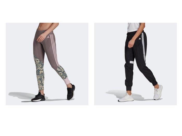 【adidas/アディダス】のU4U レギンス U4U Leggings&ランニング トラックパンツ Running Track Pants adidasのおすすめ!人気、トレンド・レディースファッションの通販 おすすめ人気トレンドファッション通販アイテム 人気、トレンドファッション・服の通販 founy(ファニー)  ファッション Fashion レディースファッション WOMEN パンツ Pants レギンス Leggings ジャージー スタイリッシュ ストレッチ プリント ポケット ヨガ レギンス クラシック フィット ブロック ランニング レギュラー |ID:crp329100000019623