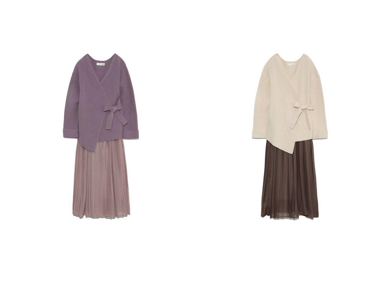 【Lily Brown/リリーブラウン】のニットセットスカート Lily Brownのおすすめ!人気、トレンド・レディースファッションの通販 おすすめで人気の流行・トレンド、ファッションの通販商品 メンズファッション・キッズファッション・インテリア・家具・レディースファッション・服の通販 founy(ファニー) https://founy.com/ ファッション Fashion レディースファッション WOMEN スカート Skirt 春 Spring 畦 シアー スマート セットアップ フェミニン ラップ ラベンダー リボン 2021年 2021 S/S 春夏 SS Spring/Summer 2021 春夏 S/S SS Spring/Summer 2021  ID:crp329100000019647