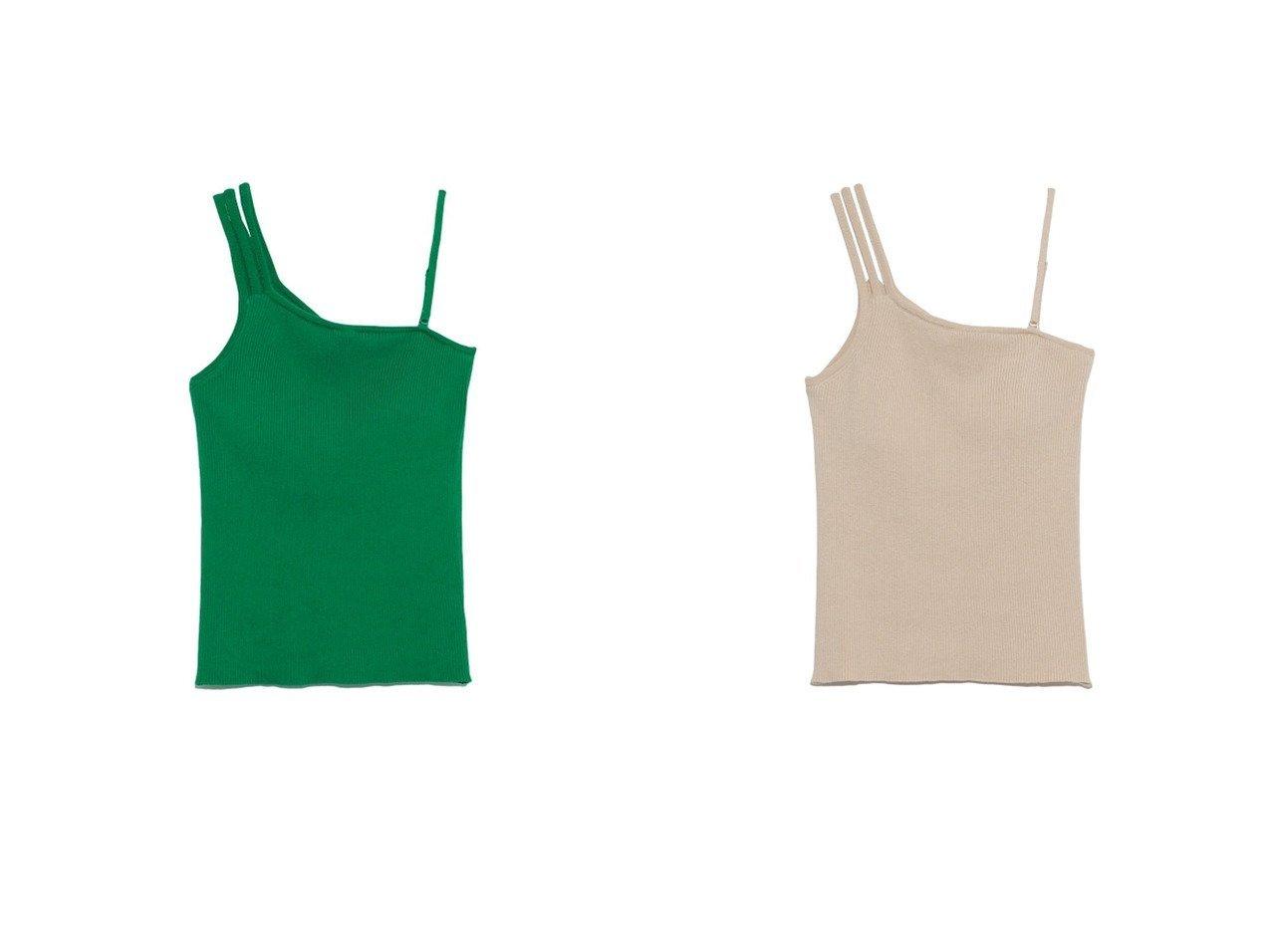 【Lily Brown/リリーブラウン】のカップインアシメタンク Lily Brownのおすすめ!人気、トレンド・レディースファッションの通販 おすすめで人気の流行・トレンド、ファッションの通販商品 メンズファッション・キッズファッション・インテリア・家具・レディースファッション・服の通販 founy(ファニー) https://founy.com/ ファッション Fashion レディースファッション WOMEN アシンメトリー インナー 春 Spring シルク ジャケット スマート タンク トレンド モダン ラップ 2021年 2021 S/S 春夏 SS Spring/Summer 2021 春夏 S/S SS Spring/Summer 2021  ID:crp329100000019648