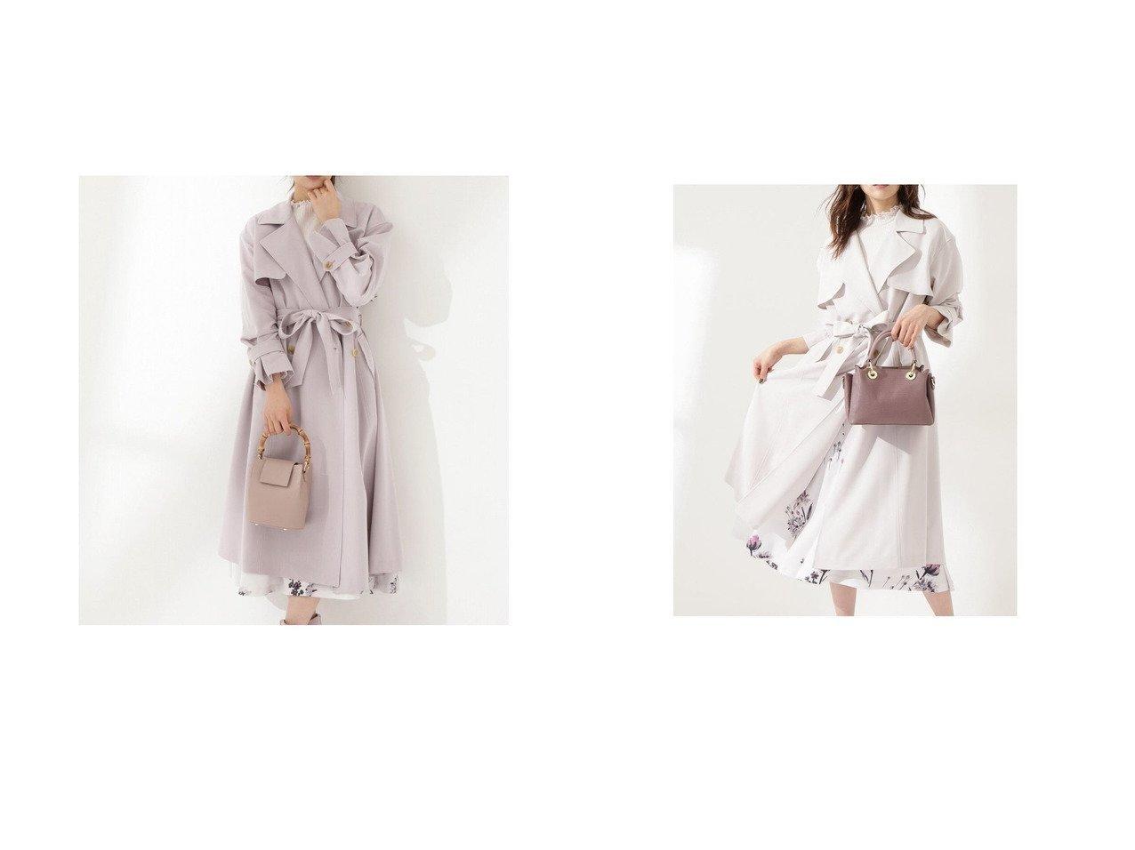 【PROPORTION BODY DRESSING/プロポーション ボディドレッシング】のボリュームスリーブとろみトレンチコート PROPORTION BODY DRESSINGのおすすめ!人気、トレンド・レディースファッションの通販 おすすめで人気の流行・トレンド、ファッションの通販商品 メンズファッション・キッズファッション・インテリア・家具・レディースファッション・服の通販 founy(ファニー) https://founy.com/ ファッション Fashion レディースファッション WOMEN アウター Coat Outerwear コート Coats トレンチコート Trench Coats 春 Spring 今季 スリーブ とろみ 人気 フレア 2021年 2021 S/S 春夏 SS Spring/Summer 2021 春夏 S/S SS Spring/Summer 2021 |ID:crp329100000019658