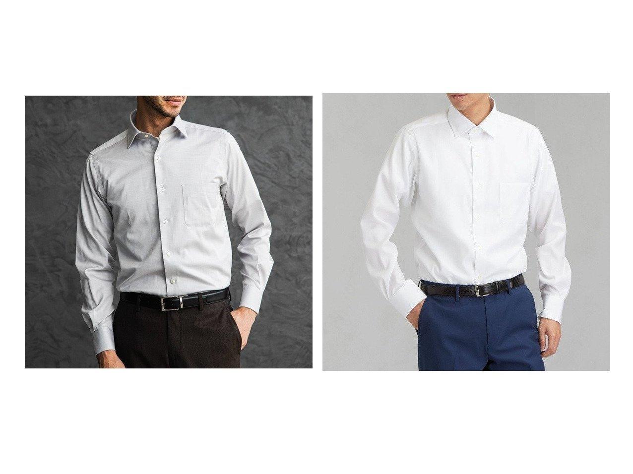 【green label relaxing / UNITED ARROWS / MEN/グリーンレーベルリラクシング メン】のスリムI マイクロヘリンボーン ショートワイドカラー ドレスシャツ 【MEN】おすすめ!人気トレンド・男性、メンズファッションの通販 おすすめで人気の流行・トレンド、ファッションの通販商品 メンズファッション・キッズファッション・インテリア・家具・レディースファッション・服の通販 founy(ファニー) https://founy.com/ ファッション Fashion メンズファッション MEN トップス Tops Tshirt Men シャツ Shirts ショート スリム ドレス ヘリンボーン ポケット ワイド 再入荷 Restock/Back in Stock/Re Arrival 無地 |ID:crp329100000019705
