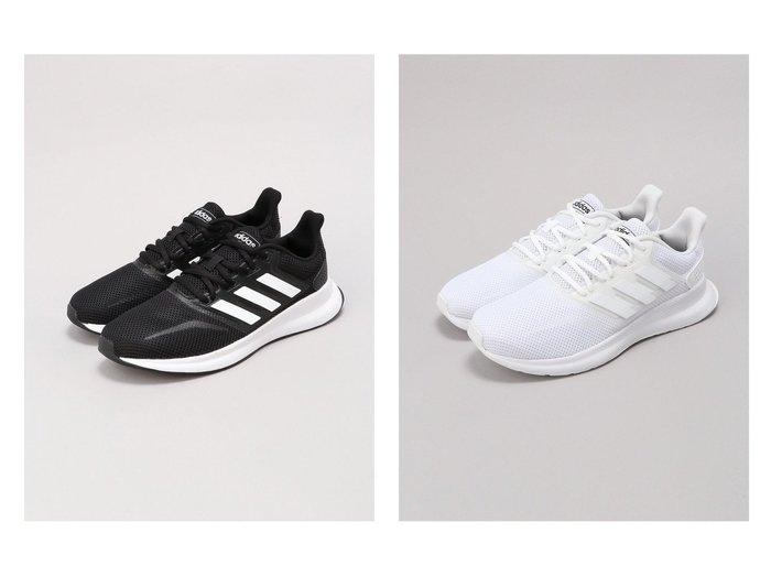 【adidas Sports Performance / MEN/アディダス スポーツ パフォーマンス】のFALCONRUN M 【MEN】おすすめ!人気トレンド・男性、メンズファッションの通販 おすすめファッション通販アイテム レディースファッション・服の通販 founy(ファニー) ファッション Fashion メンズファッション MEN シューズ・靴 Shoes Men スニーカー Sneakers シューズ スニーカー スリッポン ミックス ランニング 軽量 |ID:crp329100000019714
