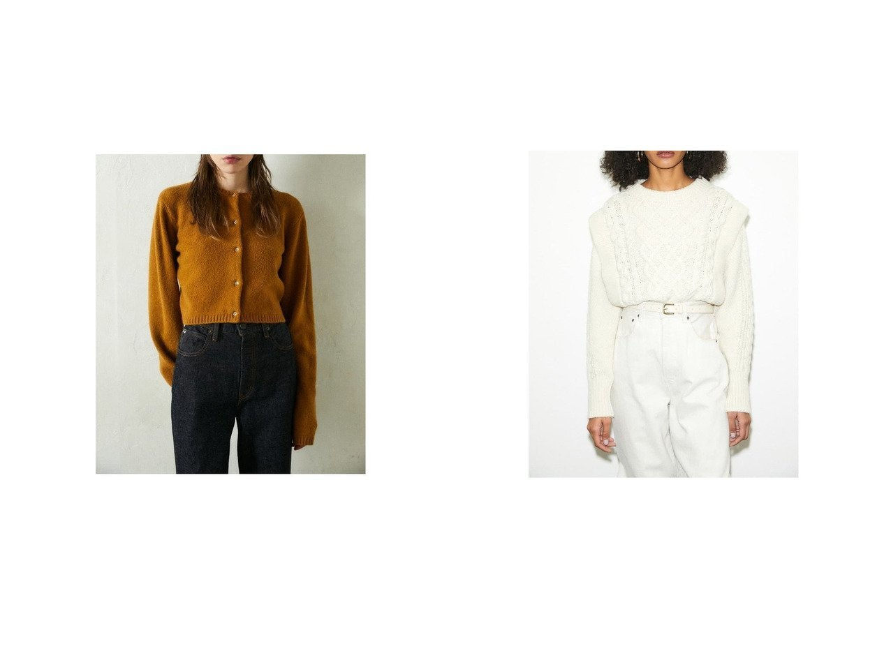 【moussy/マウジー】のLAYERED LIKE ケーブルニット&LONG SLEEVE COMPACT カーディガン CAM moussyのおすすめ!人気、トレンド・レディースファッションの通販 おすすめで人気の流行・トレンド、ファッションの通販商品 メンズファッション・キッズファッション・インテリア・家具・レディースファッション・服の通販 founy(ファニー) https://founy.com/ ファッション Fashion レディースファッション WOMEN トップス Tops Tshirt カーディガン Cardigans ニット Knit Tops 2020年 2020 2020-2021 秋冬 A/W AW Autumn/Winter / FW Fall-Winter 2020-2021 A/W 秋冬 AW Autumn/Winter / FW Fall-Winter アクリル カーディガン クロップド トレンド フロント コンパクト ミニスカート |ID:crp329100000019738