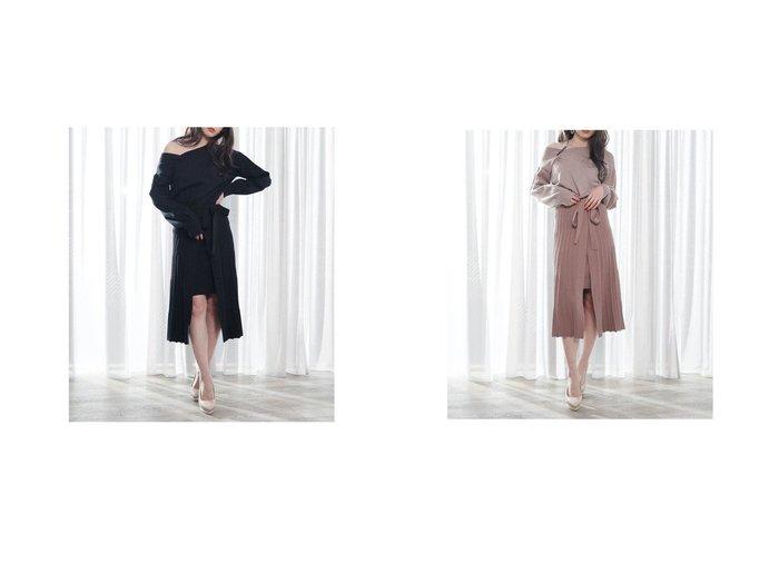 【LIP SERVICE/リップサービス】の2wayネックレイヤードニットロングOP LIP SERVICEのおすすめ!人気、トレンド・レディースファッションの通販 おすすめ人気トレンドファッション通販アイテム 人気、トレンドファッション・服の通販 founy(ファニー)  ファッション Fashion レディースファッション WOMEN トップス Tops Tshirt ニット Knit Tops 2020年 2020 2020-2021 秋冬 A/W AW Autumn/Winter / FW Fall-Winter 2020-2021 A/W 秋冬 AW Autumn/Winter / FW Fall-Winter |ID:crp329100000019751