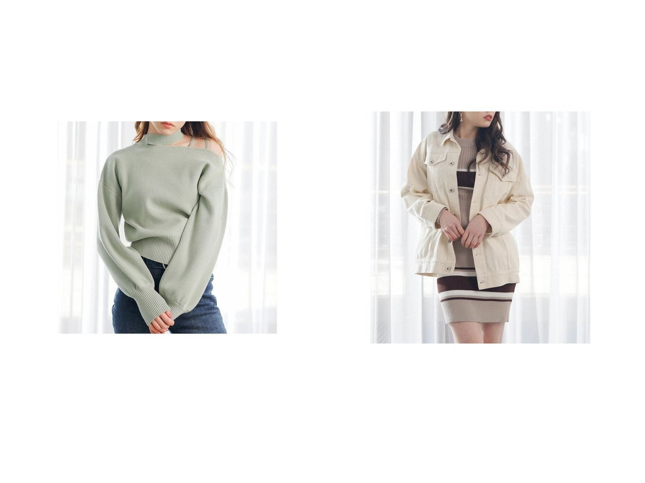 【LIP SERVICE/リップサービス】のオーバーデニムジャケット&アシメカットストラップニット LIP SERVICEのおすすめ!人気、トレンド・レディースファッションの通販 おすすめで人気の流行・トレンド、ファッションの通販商品 メンズファッション・キッズファッション・インテリア・家具・レディースファッション・服の通販 founy(ファニー) https://founy.com/ ファッション Fashion レディースファッション WOMEN トップス Tops Tshirt ニット Knit Tops アウター Coat Outerwear ジャケット Jackets デニムジャケット Denim Jackets 2020年 2020 2020-2021 秋冬 A/W AW Autumn/Winter / FW Fall-Winter 2020-2021 A/W 秋冬 AW Autumn/Winter / FW Fall-Winter コンパクト バランス ボトム ラップ リップ リラックス ジャケット デニム |ID:crp329100000019752