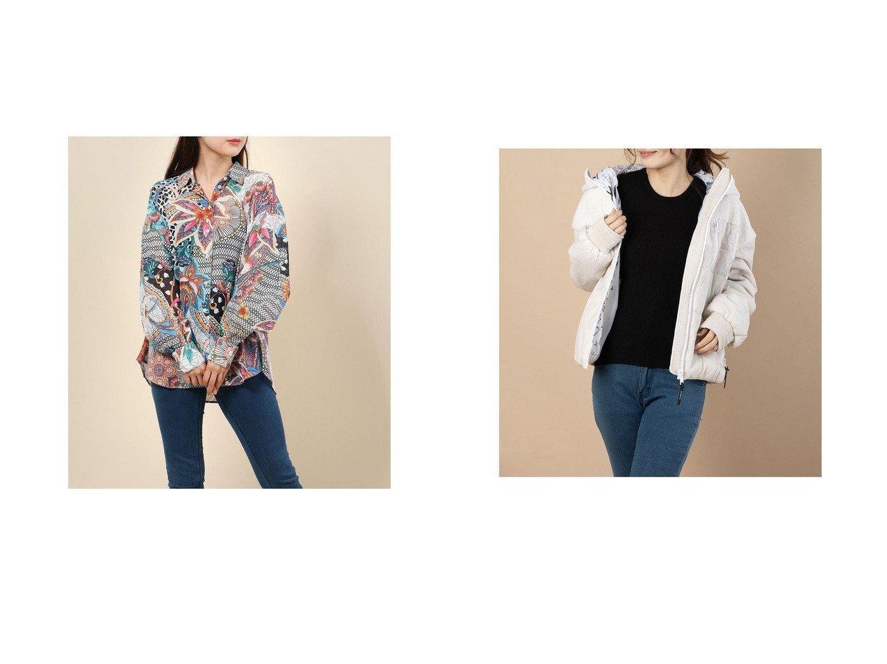 【Desigual/デシグアル】のパッド入り半オーバーコート WHITEHALL ROAD&長袖シャツ LENA Desigualのおすすめ!人気、トレンド・レディースファッションの通販 おすすめで人気の流行・トレンド、ファッションの通販商品 メンズファッション・キッズファッション・インテリア・家具・レディースファッション・服の通販 founy(ファニー) https://founy.com/ ファッション Fashion レディースファッション WOMEN トップス Tops Tshirt シャツ/ブラウス Shirts Blouses アウター Coat Outerwear コート Coats 2020年 2020 2020 春夏 S/S SS Spring/Summer 2020 S/S 春夏 SS Spring/Summer オリエンタル プリント 春 Spring 長袖 ジャケット ポケット 2021年 2021 2021 春夏 S/S SS Spring/Summer 2021 |ID:crp329100000019756