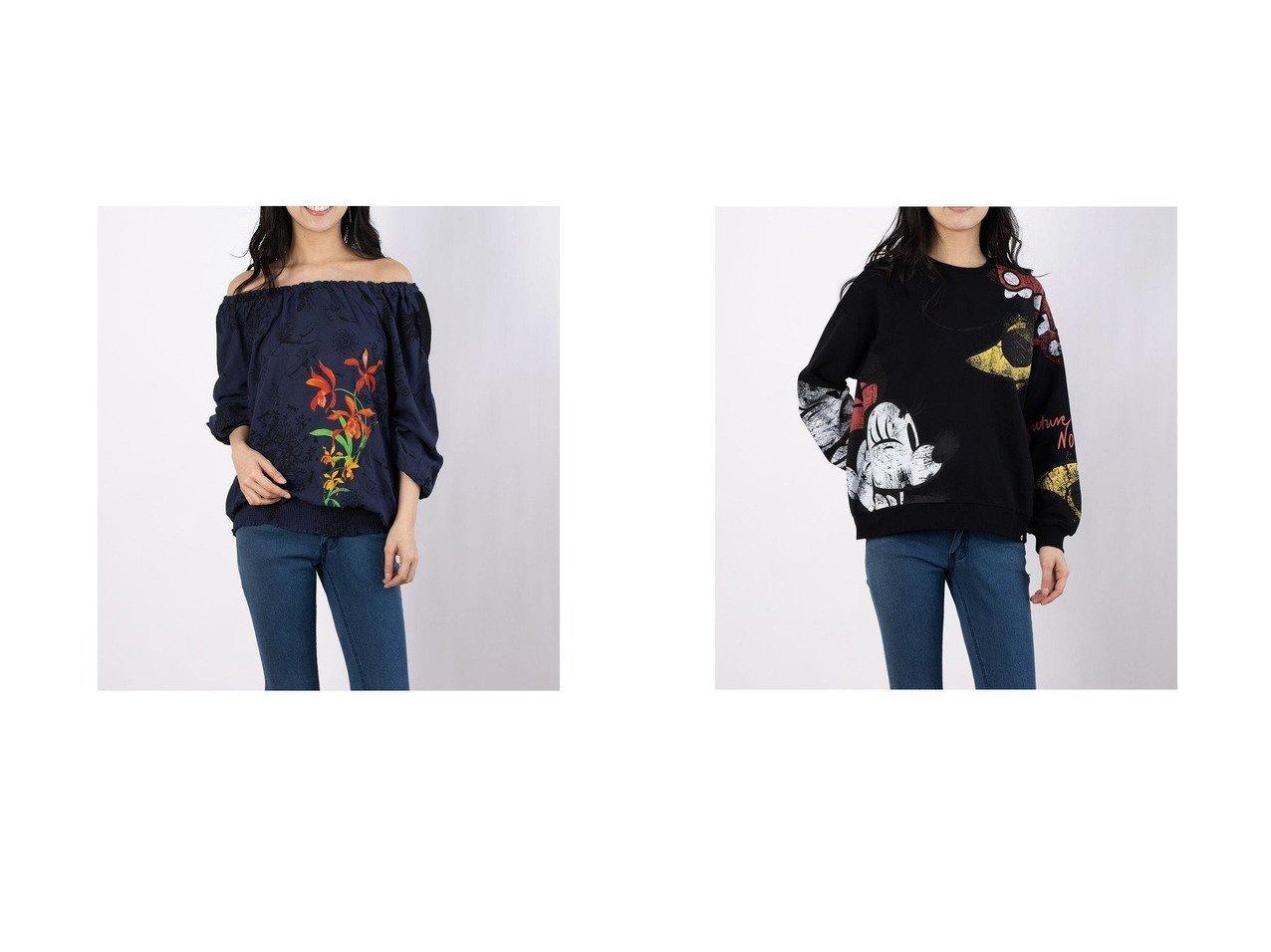 【Desigual/デシグアル】のブラウス長袖 CARLA&スウェット長袖 MINNIE Desigualのおすすめ!人気、トレンド・レディースファッションの通販 おすすめで人気の流行・トレンド、ファッションの通販商品 メンズファッション・キッズファッション・インテリア・家具・レディースファッション・服の通販 founy(ファニー) https://founy.com/ ファッション Fashion レディースファッション WOMEN トップス Tops Tshirt シャツ/ブラウス Shirts Blouses パーカ Sweats スウェット Sweat 2021年 2021 2021 春夏 S/S SS Spring/Summer 2021 S/S 春夏 SS Spring/Summer オフショル ドレープ プリント 春 Spring 長袖 |ID:crp329100000019762