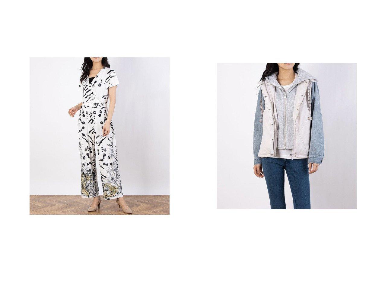 【Desigual/デシグアル】のオーバーオールパンツ MIKONOS&パッド入り半オーバーコート GLEN Desigualのおすすめ!人気、トレンド・レディースファッションの通販 おすすめで人気の流行・トレンド、ファッションの通販商品 メンズファッション・キッズファッション・インテリア・家具・レディースファッション・服の通販 founy(ファニー) https://founy.com/ ファッション Fashion レディースファッション WOMEN パンツ Pants アウター Coat Outerwear コート Coats 2021年 2021 2021 春夏 S/S SS Spring/Summer 2021 S/S 春夏 SS Spring/Summer カシュクール 春 Spring |ID:crp329100000019763