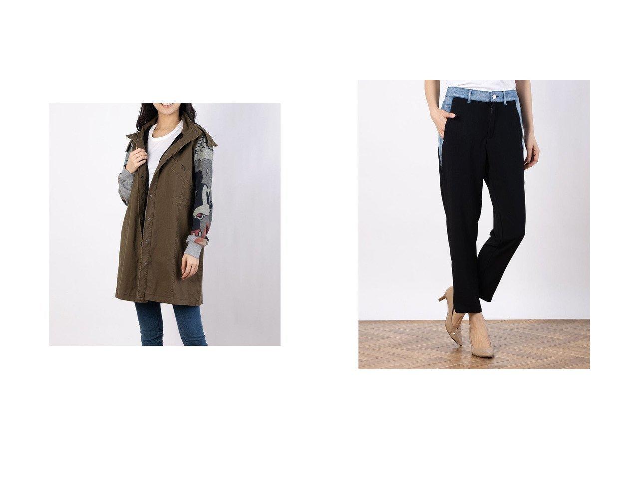 【Desigual/デシグアル】のパーカー MICKEY&長パンツ CAMERON Desigualのおすすめ!人気、トレンド・レディースファッションの通販 おすすめで人気の流行・トレンド、ファッションの通販商品 メンズファッション・キッズファッション・インテリア・家具・レディースファッション・服の通販 founy(ファニー) https://founy.com/ ファッション Fashion レディースファッション WOMEN トップス Tops Tshirt パーカ Sweats パンツ Pants 2021年 2021 2021 春夏 S/S SS Spring/Summer 2021 S/S 春夏 SS Spring/Summer パーカー プリント ミリタリー 春 Spring |ID:crp329100000019764