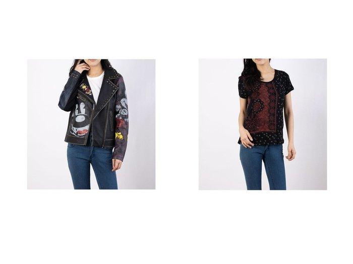 【Desigual/デシグアル】のコート COVENT GARDEN&Tシャツ半袖 ESTAMBUL Desigualのおすすめ!人気、トレンド・レディースファッションの通販 おすすめ人気トレンドファッション通販アイテム インテリア・キッズ・メンズ・レディースファッション・服の通販 founy(ファニー) https://founy.com/ ファッション Fashion レディースファッション WOMEN アウター Coat Outerwear コート Coats トップス Tops Tshirt シャツ/ブラウス Shirts Blouses ロング / Tシャツ T-Shirts 2021年 2021 2021 春夏 S/S SS Spring/Summer 2021 S/S 春夏 SS Spring/Summer クール ジャケット スタッズ プリント 春 Spring |ID:crp329100000019765