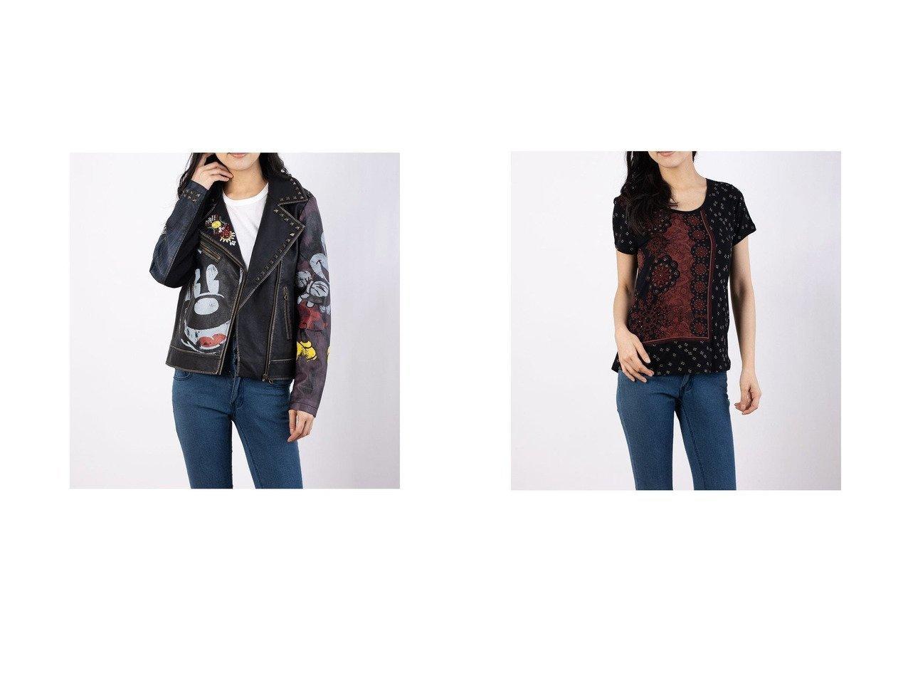 【Desigual/デシグアル】のコート COVENT GARDEN&Tシャツ半袖 ESTAMBUL Desigualのおすすめ!人気、トレンド・レディースファッションの通販 おすすめで人気の流行・トレンド、ファッションの通販商品 メンズファッション・キッズファッション・インテリア・家具・レディースファッション・服の通販 founy(ファニー) https://founy.com/ ファッション Fashion レディースファッション WOMEN アウター Coat Outerwear コート Coats トップス Tops Tshirt シャツ/ブラウス Shirts Blouses ロング / Tシャツ T-Shirts 2021年 2021 2021 春夏 S/S SS Spring/Summer 2021 S/S 春夏 SS Spring/Summer クール ジャケット スタッズ プリント 春 Spring |ID:crp329100000019765