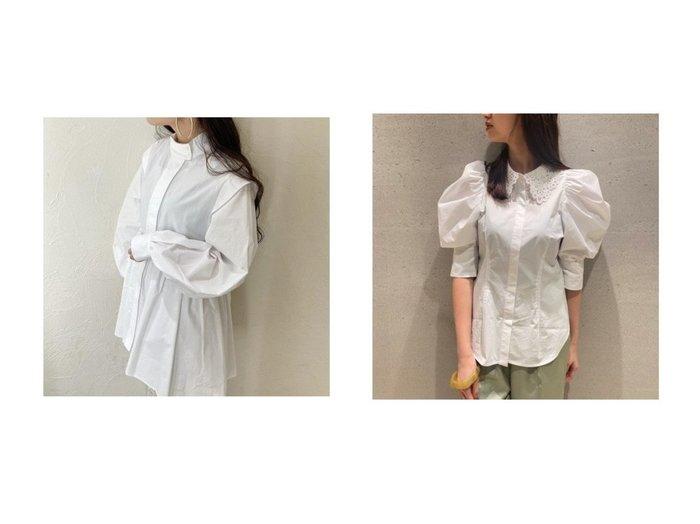 【SNIDEL/スナイデル】のORGANICSハイネックチュニックブラウス&ORGANICSレースカラーシャツブラウス SNIDELのおすすめ!人気、トレンド・レディースファッションの通販 おすすめファッション通販アイテム レディースファッション・服の通販 founy(ファニー) ファッション Fashion レディースファッション WOMEN トップス Tops Tshirt シャツ/ブラウス Shirts Blouses シンプル スマート チュニック ハイネック 再入荷 Restock/Back in Stock/Re Arrival |ID:crp329100000019778