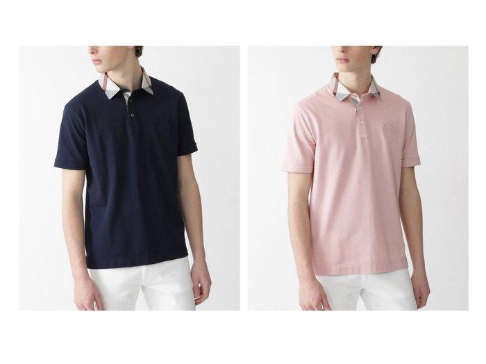 【BLACK LABEL CRESTBRIDGE / MEN/ブラックレーベル クレストブリッジ】のパーシャルチェックギザスヴィンポロ 【MEN】おすすめ!人気トレンド・男性、メンズファッションの通販 おすすめファッション通販アイテム レディースファッション・服の通販 founy(ファニー) ファッション Fashion メンズファッション MEN トップス Tops Tshirt Men シャツ Shirts ポロシャツ Polo Shirts シンプル チェック ポロシャツ |ID:crp329100000019810