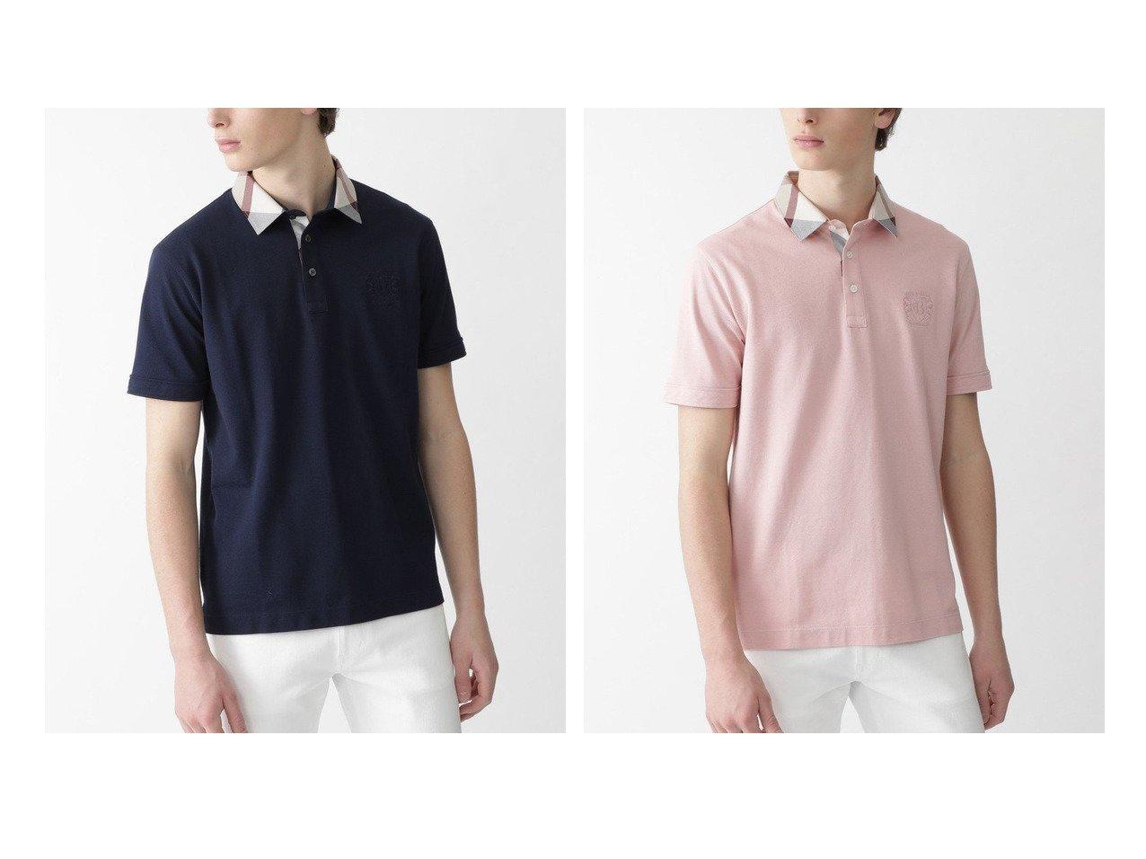 【BLACK LABEL CRESTBRIDGE / MEN/ブラックレーベル クレストブリッジ】のパーシャルチェックギザスヴィンポロ 【MEN】おすすめ!人気トレンド・男性、メンズファッションの通販 おすすめで人気の流行・トレンド、ファッションの通販商品 メンズファッション・キッズファッション・インテリア・家具・レディースファッション・服の通販 founy(ファニー) https://founy.com/ ファッション Fashion メンズファッション MEN トップス Tops Tshirt Men シャツ Shirts ポロシャツ Polo Shirts シンプル チェック ポロシャツ |ID:crp329100000019810