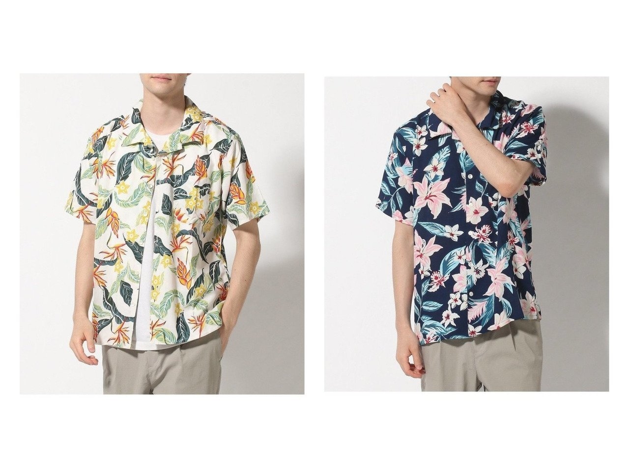 【KAHIKO / MEN/カヒコ】のサマールM-SH 【MEN】おすすめ!人気トレンド・男性、メンズファッションの通販 おすすめで人気の流行・トレンド、ファッションの通販商品 メンズファッション・キッズファッション・インテリア・家具・レディースファッション・服の通販 founy(ファニー) https://founy.com/ ファッション Fashion メンズファッション MEN シンプル ビーチ ボタニカル リゾート 半袖 |ID:crp329100000019836