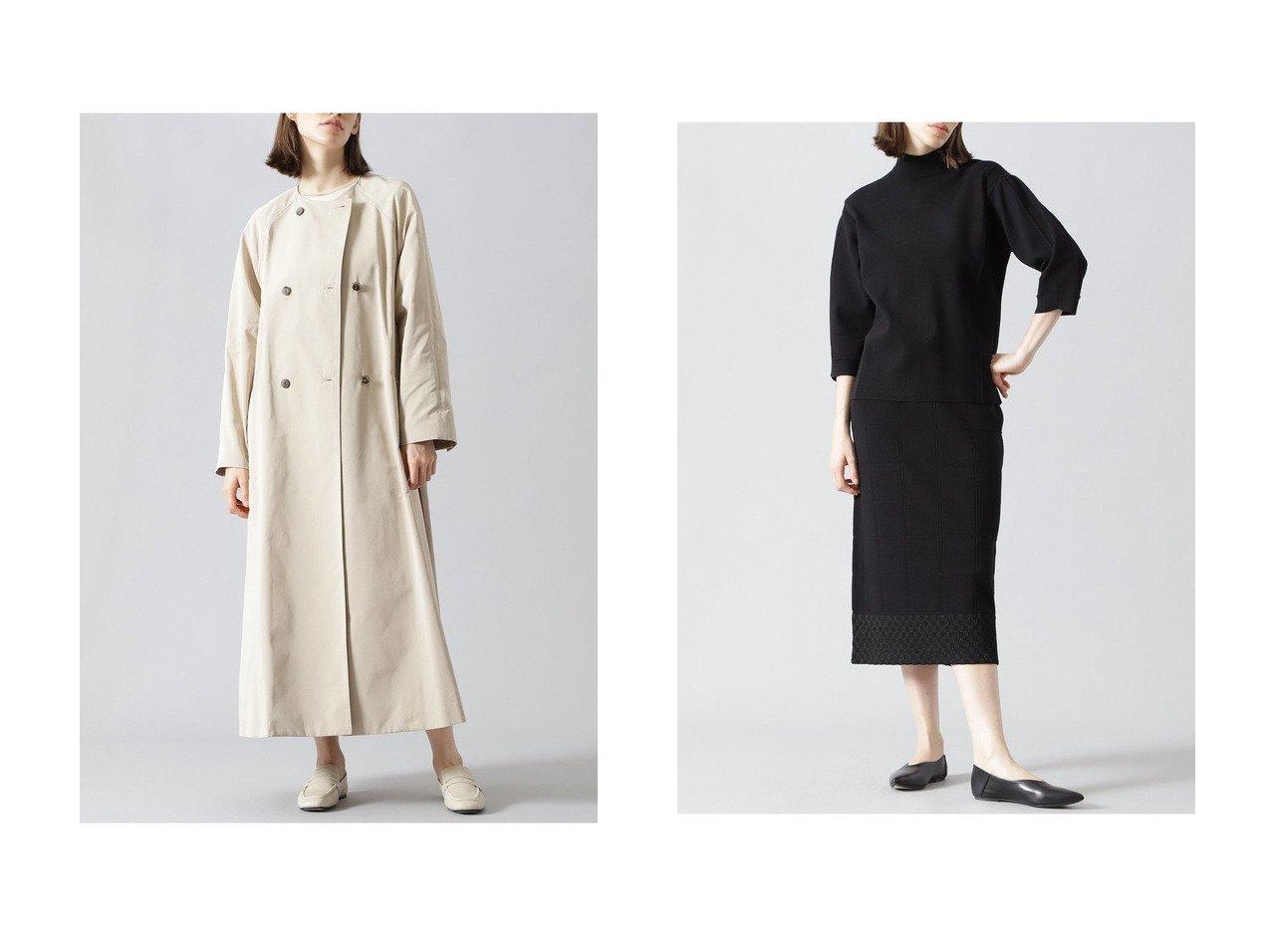 【ADORE/アドーア】のテクニカルストレッチニットスカート&メモリーグログランコート ADOREのおすすめ!人気、トレンド・レディースファッションの通販 おすすめで人気の流行・トレンド、ファッションの通販商品 メンズファッション・キッズファッション・インテリア・家具・レディースファッション・服の通販 founy(ファニー) https://founy.com/ ファッション Fashion レディースファッション WOMEN アウター Coat Outerwear コート Coats スカート Skirt ロングスカート Long Skirt 2021年 2021 2021 春夏 S/S SS Spring/Summer 2021 S/S 春夏 SS Spring/Summer グログラン シアー タフタ トレンド ドッキング ロング 春 Spring  ID:crp329100000019845