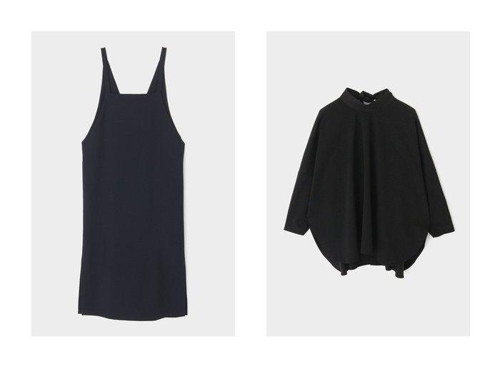 【LE PHIL/ル フィル】のコンパクトポンチブラウス&ドライ2WAYストレッチワンピース LE PHILのおすすめ!人気、トレンド・レディースファッションの通販 おすすめファッション通販アイテム レディースファッション・服の通販 founy(ファニー) ファッション Fashion レディースファッション WOMEN ワンピース Dress トップス カットソー Tops Tshirt シャツ/ブラウス Shirts Blouses 2021年 2021 2021 春夏 S/S SS Spring/Summer 2021 S/S 春夏 SS Spring/Summer ストレッチ スリット ロング 春 Spring |ID:crp329100000019863