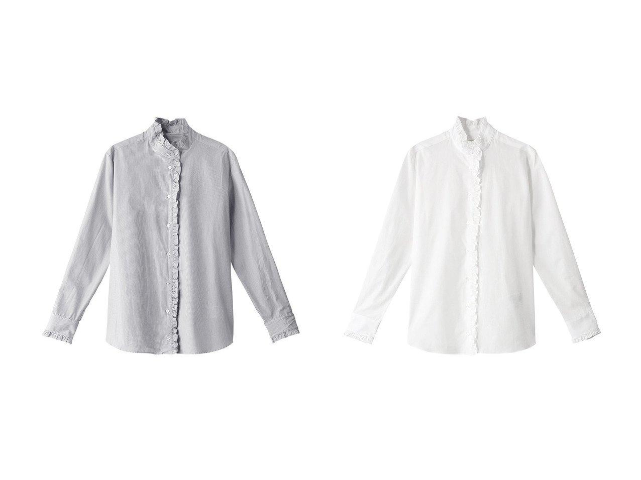 【WEEKEND MAX MARA/ウィークエンド マックスマーラ】のAFGANO コットンポプリンシャツブラウス WEEKEND MAX MARAのおすすめ!人気、トレンド・レディースファッションの通販 おすすめで人気の流行・トレンド、ファッションの通販商品 メンズファッション・キッズファッション・インテリア・家具・レディースファッション・服の通販 founy(ファニー) https://founy.com/ ファッション Fashion レディースファッション WOMEN トップス カットソー Tops Tshirt シャツ/ブラウス Shirts Blouses 2021年 2021 2021 春夏 S/S SS Spring/Summer 2021 S/S 春夏 SS Spring/Summer シンプル スリーブ パーティ フリル ロング 春 Spring |ID:crp329100000019892