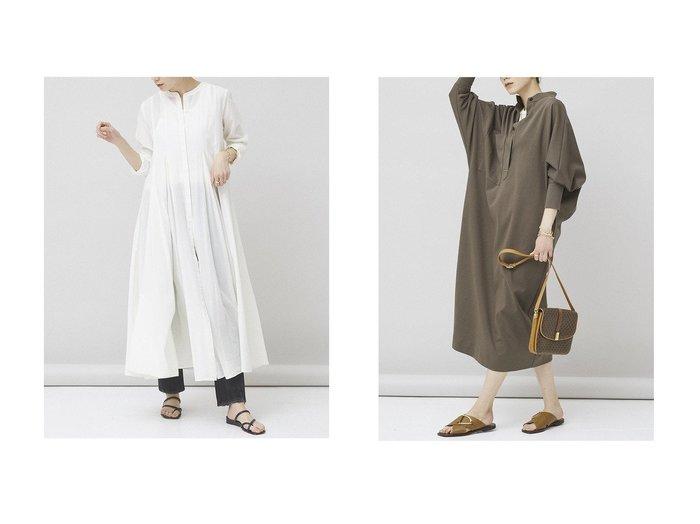 【Curensology/カレンソロジー】のジャージワンピース&タックボリュームワンピース Curensologyのおすすめ!人気、トレンド・レディースファッションの通販 おすすめファッション通販アイテム レディースファッション・服の通販 founy(ファニー) ファッション Fashion レディースファッション WOMEN ワンピース Dress 2021年 2021 2021 春夏 S/S SS Spring/Summer 2021 S/S 春夏 SS Spring/Summer エアリー シンプル ロング 春 Spring  ID:crp329100000019895