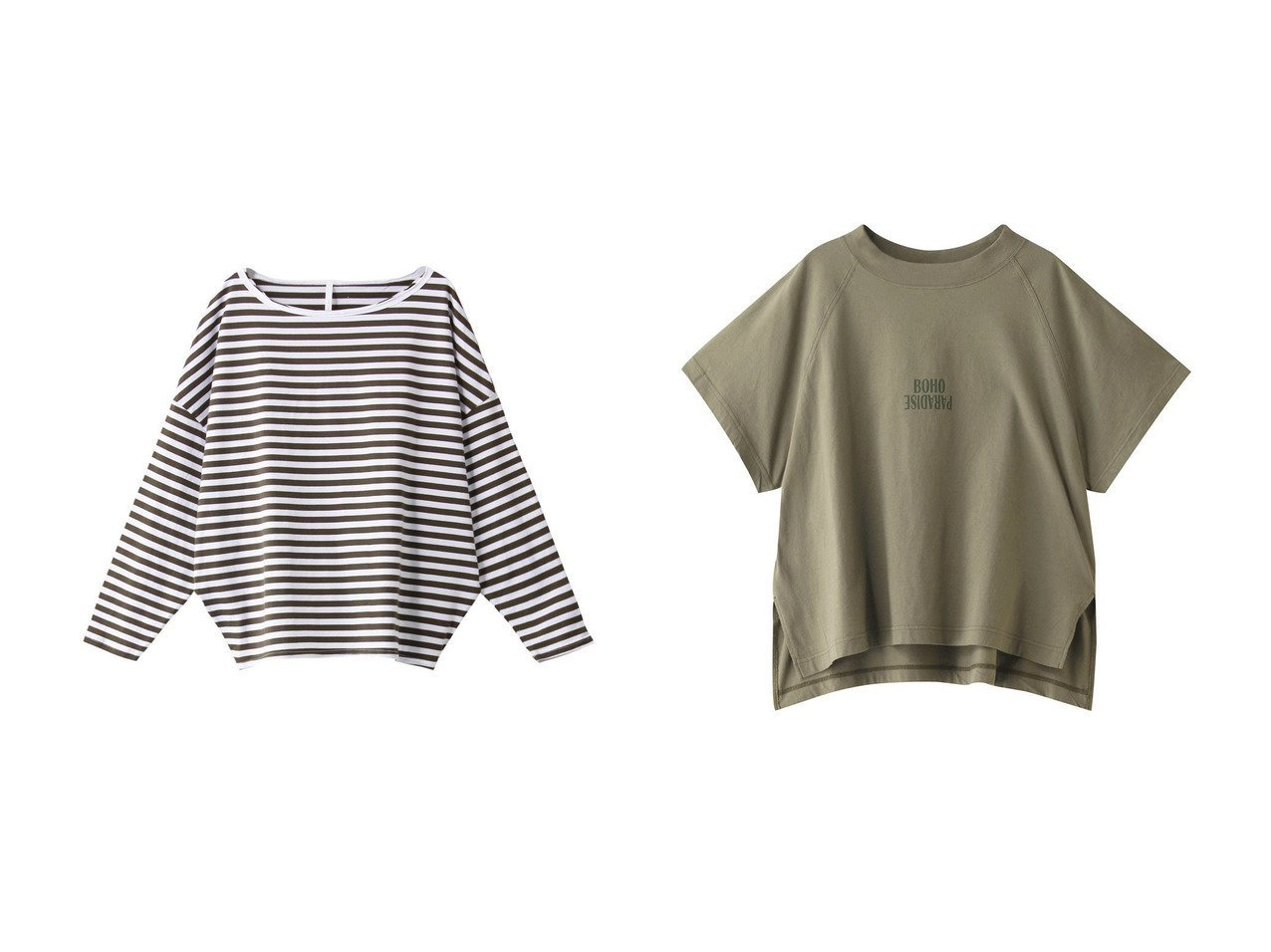 【upper hights/アッパー ハイツ】のTHE LOOSE RAGLAN Tシャツ&【DAY】Johnnie カットソー upper hightsのおすすめ!人気、トレンド・レディースファッションの通販 おすすめで人気の流行・トレンド、ファッションの通販商品 メンズファッション・キッズファッション・インテリア・家具・レディースファッション・服の通販 founy(ファニー) https://founy.com/ ファッション Fashion レディースファッション WOMEN トップス カットソー Tops Tshirt シャツ/ブラウス Shirts Blouses ロング / Tシャツ T-Shirts カットソー Cut and Sewn 2021年 2021 2021 春夏 S/S SS Spring/Summer 2021 S/S 春夏 SS Spring/Summer カットソー ショルダー スリーブ デニム ドロップ ボーダー リラックス ロング 春 Spring |ID:crp329100000019898