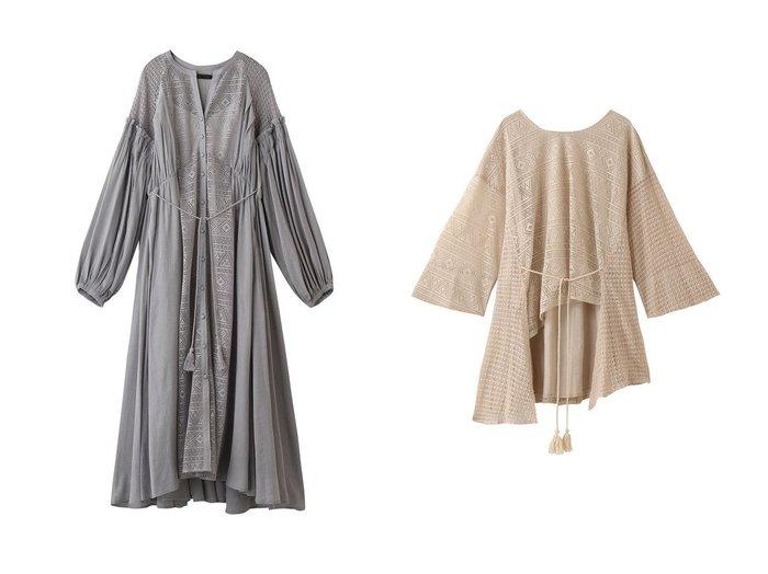 【AULA/アウラ】のクローシェレースブラウス&クローシェレースドレス AULAのおすすめ!人気、トレンド・レディースファッションの通販 おすすめファッション通販アイテム レディースファッション・服の通販 founy(ファニー) ファッション Fashion レディースファッション WOMEN ワンピース Dress ドレス Party Dresses トップス カットソー Tops Tshirt シャツ/ブラウス Shirts Blouses 2021年 2021 2021 春夏 S/S SS Spring/Summer 2021 S/S 春夏 SS Spring/Summer ギャザー スリーブ ドレス ドレープ フェミニン 春 Spring  ID:crp329100000019906