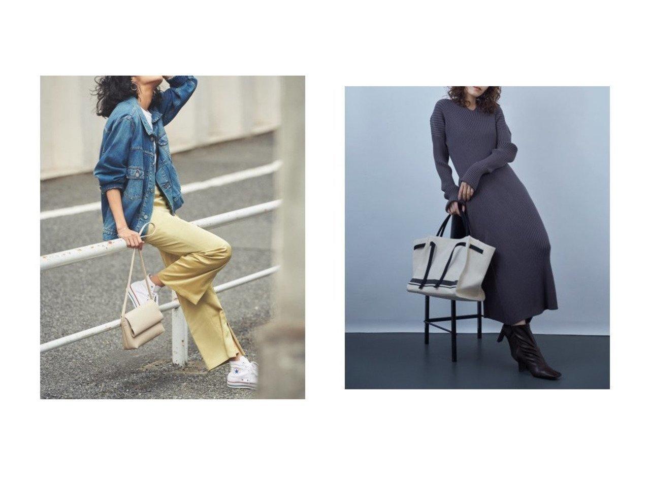 【Mila Owen/ミラオーウェン】のキャンバストートバッグ&フロントベンツサテンパンツ Mila Owenのおすすめ!人気、トレンド・レディースファッションの通販 おすすめで人気の流行・トレンド、ファッションの通販商品 メンズファッション・キッズファッション・インテリア・家具・レディースファッション・服の通販 founy(ファニー) https://founy.com/ ファッション Fashion レディースファッション WOMEN パンツ Pants バッグ Bag サテン スマート フロント リボン 再入荷 Restock/Back in Stock/Re Arrival |ID:crp329100000019927
