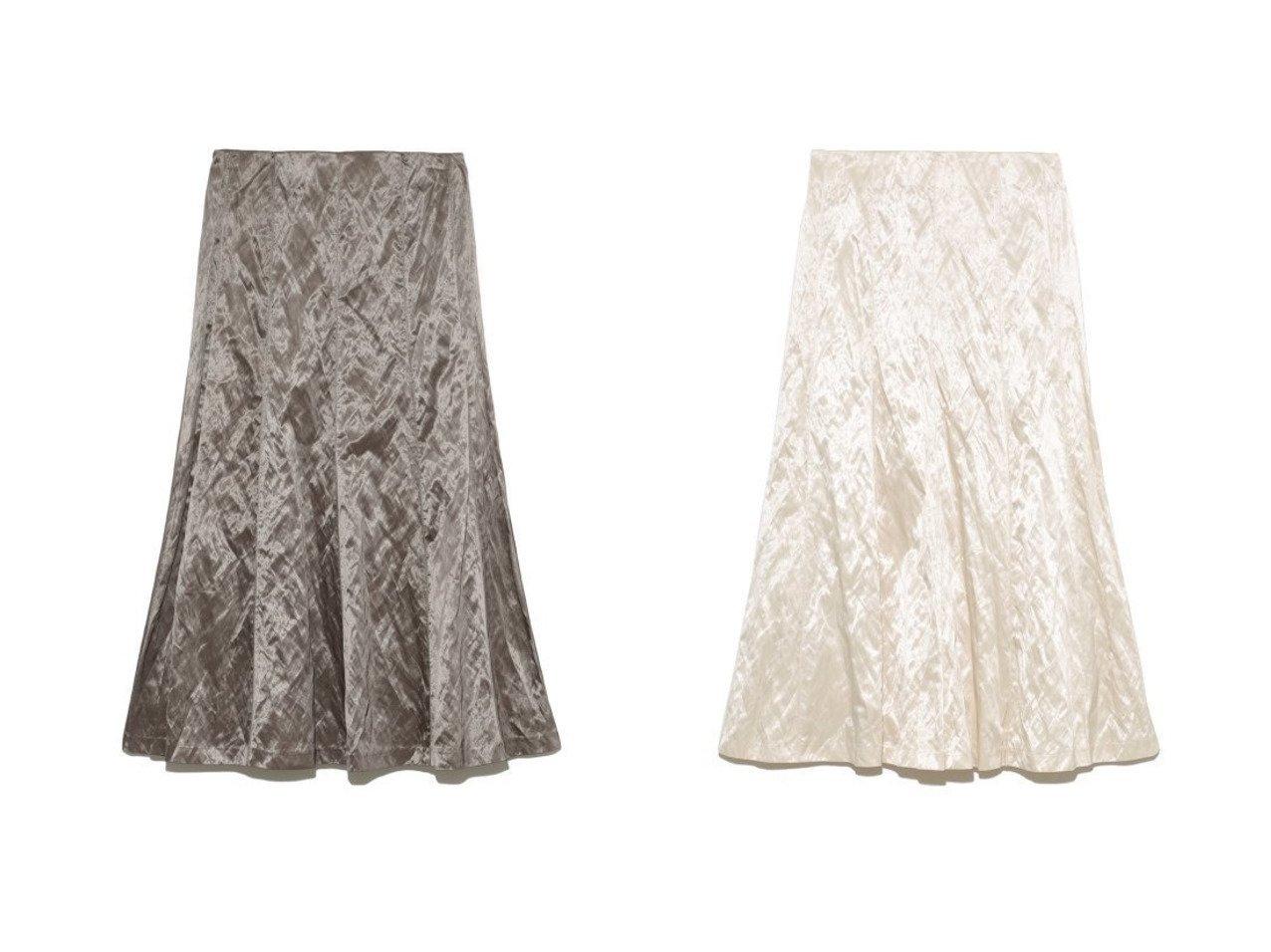 【Mila Owen/ミラオーウェン】のサテン地パネルデザインミディスカート Mila Owenのおすすめ!人気、トレンド・レディースファッションの通販 おすすめで人気の流行・トレンド、ファッションの通販商品 メンズファッション・キッズファッション・インテリア・家具・レディースファッション・服の通販 founy(ファニー) https://founy.com/ ファッション Fashion レディースファッション WOMEN スカート Skirt サテン スマート ダウン 再入荷 Restock/Back in Stock/Re Arrival |ID:crp329100000019932