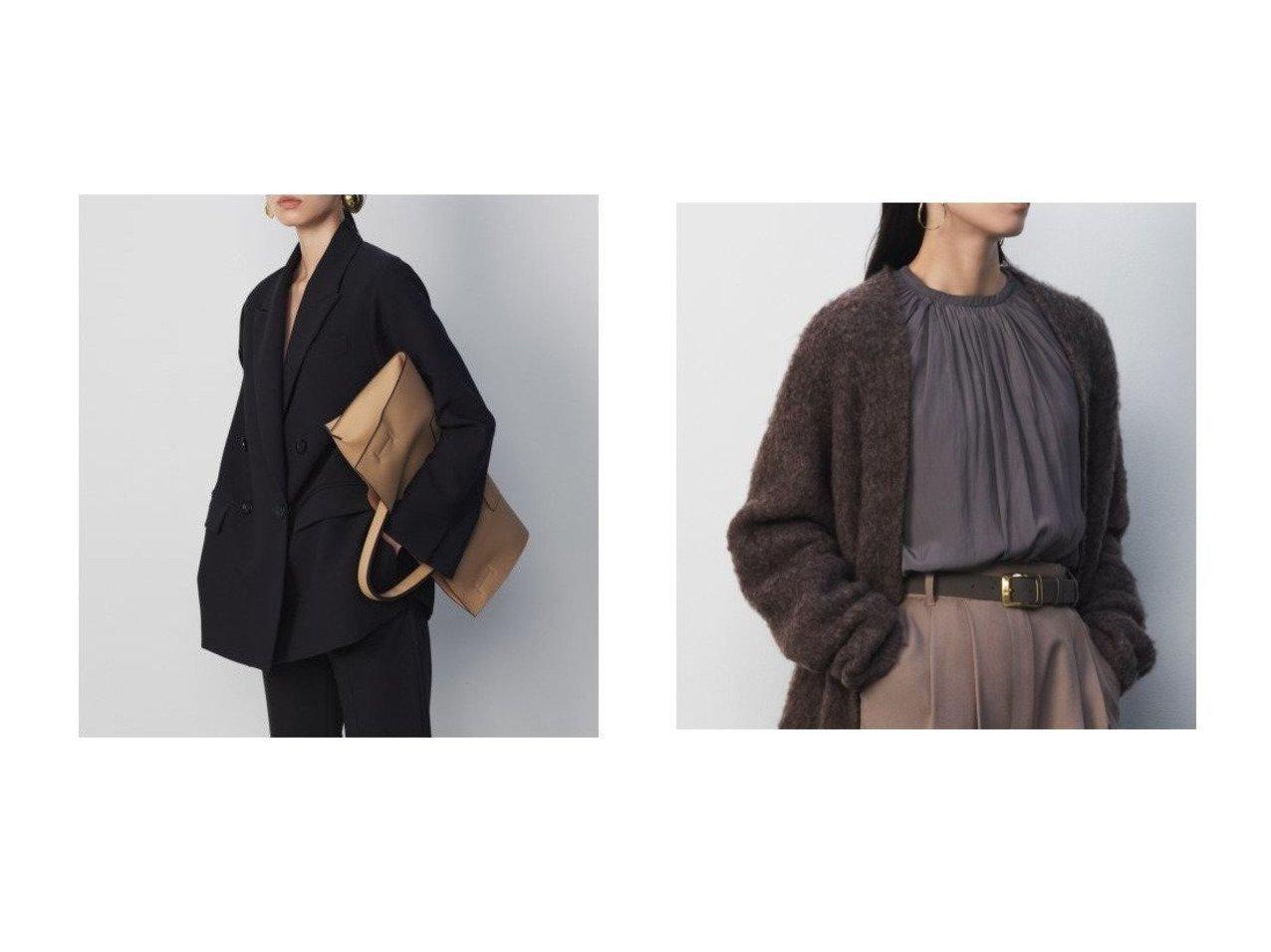【Mila Owen/ミラオーウェン】の袖ボリュームヴィンテージブラウス&3点SETスーツジャケット Mila Owenのおすすめ!人気、トレンド・レディースファッションの通販 おすすめで人気の流行・トレンド、ファッションの通販商品 メンズファッション・キッズファッション・インテリア・家具・レディースファッション・服の通販 founy(ファニー) https://founy.com/ ファッション Fashion レディースファッション WOMEN アウター Coat Outerwear ジャケット Jackets テーラードジャケット Tailored Jackets スーツ Suits スーツ ジャケット Jacket トップス カットソー Tops Tshirt シャツ/ブラウス Shirts Blouses ジャケット スタンダード スマート スーツ セットアップ ダブル デニム トレンド ビッグ マニッシュ ロング 再入荷 Restock/Back in Stock/Re Arrival イエロー ウォッシャブル ギャザー ヴィンテージ |ID:crp329100000019934