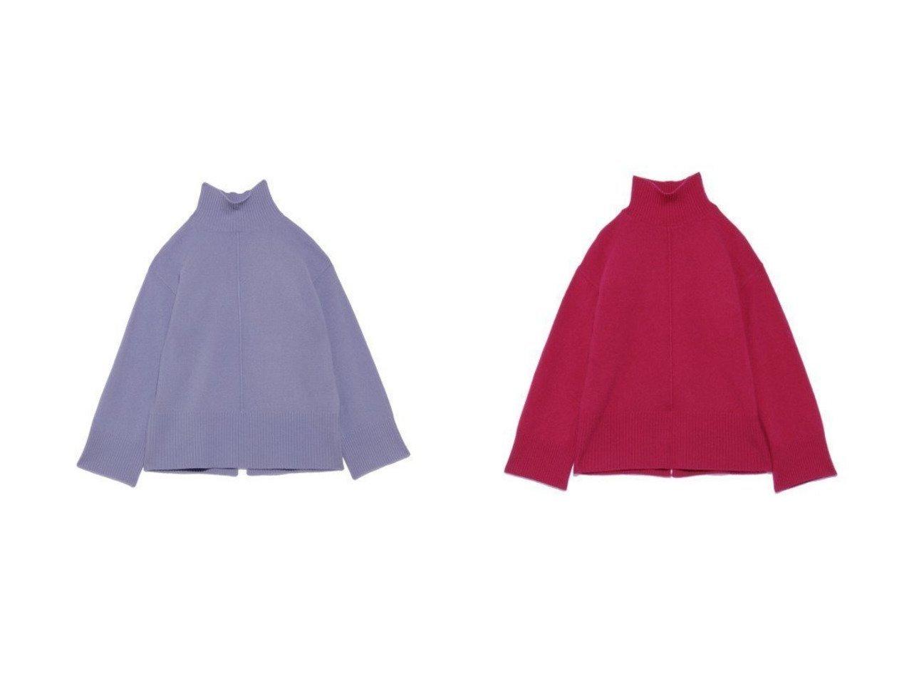 【Mila Owen/ミラオーウェン】の後スリットウールカシミアプルオーバー Mila Owenのおすすめ!人気、トレンド・レディースファッションの通販 おすすめで人気の流行・トレンド、ファッションの通販商品 メンズファッション・キッズファッション・インテリア・家具・レディースファッション・服の通販 founy(ファニー) https://founy.com/ ファッション Fashion レディースファッション WOMEN トップス カットソー Tops Tshirt ニット Knit Tops プルオーバー Pullover セーター |ID:crp329100000019936