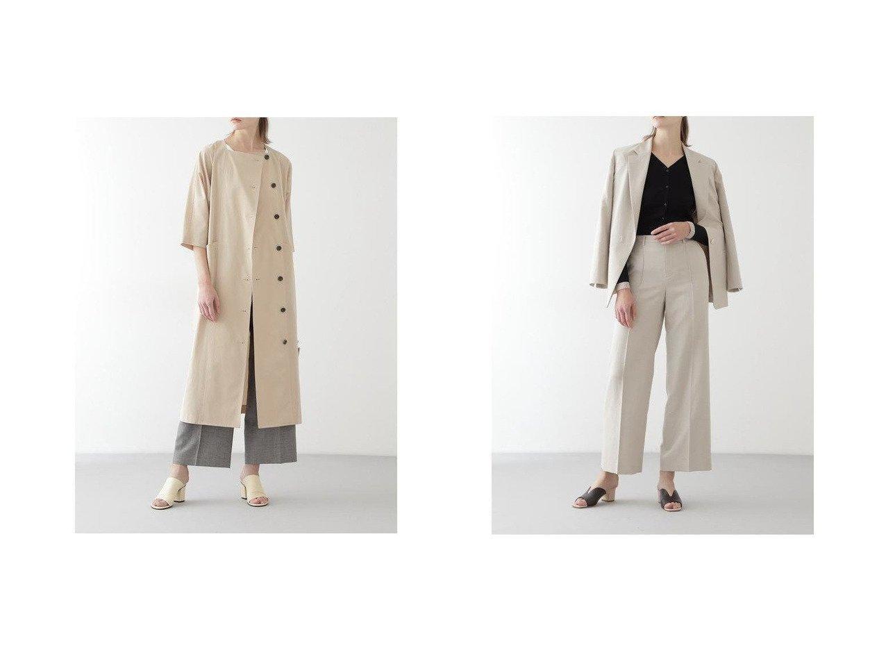 【BOSCH/ボッシュ】のウール麻セットアップワイドパンツ BOSCHのおすすめ!人気、トレンド・レディースファッションの通販 おすすめで人気の流行・トレンド、ファッションの通販商品 メンズファッション・キッズファッション・インテリア・家具・レディースファッション・服の通販 founy(ファニー) https://founy.com/ ファッション Fashion レディースファッション WOMEN セットアップ Setup パンツ Pants NEW・新作・新着・新入荷 New Arrivals シャンブレー スタンダード リラックス |ID:crp329100000019951