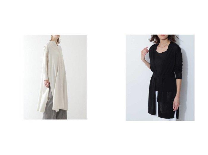 【BOSCH/ボッシュ】のドライハイゲージカーディガン&ロングブラウス BOSCHのおすすめ!人気、トレンド・レディースファッションの通販 おすすめファッション通販アイテム インテリア・キッズ・メンズ・レディースファッション・服の通販 founy(ファニー) https://founy.com/ ファッション Fashion レディースファッション WOMEN トップス カットソー Tops Tshirt シャツ/ブラウス Shirts Blouses カーディガン Cardigans カフス スリット ビッグ フロント ロング 羽織 カーディガン ガウン ブラウジング |ID:crp329100000019953