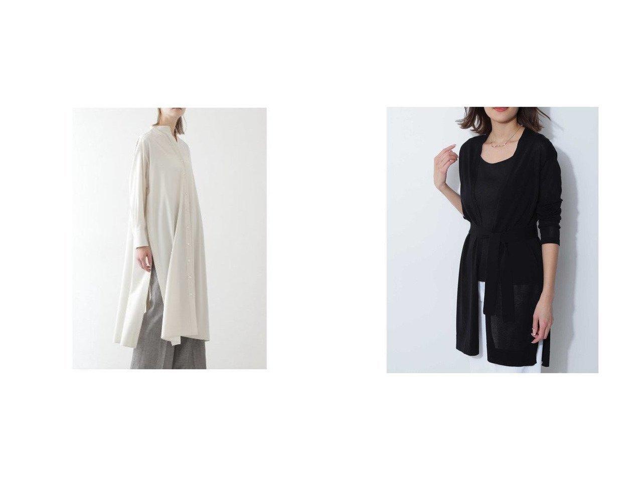 【BOSCH/ボッシュ】のドライハイゲージカーディガン&ロングブラウス BOSCHのおすすめ!人気、トレンド・レディースファッションの通販 おすすめで人気の流行・トレンド、ファッションの通販商品 メンズファッション・キッズファッション・インテリア・家具・レディースファッション・服の通販 founy(ファニー) https://founy.com/ ファッション Fashion レディースファッション WOMEN トップス カットソー Tops Tshirt シャツ/ブラウス Shirts Blouses カーディガン Cardigans カフス スリット ビッグ フロント ロング 羽織 カーディガン ガウン ブラウジング |ID:crp329100000019953